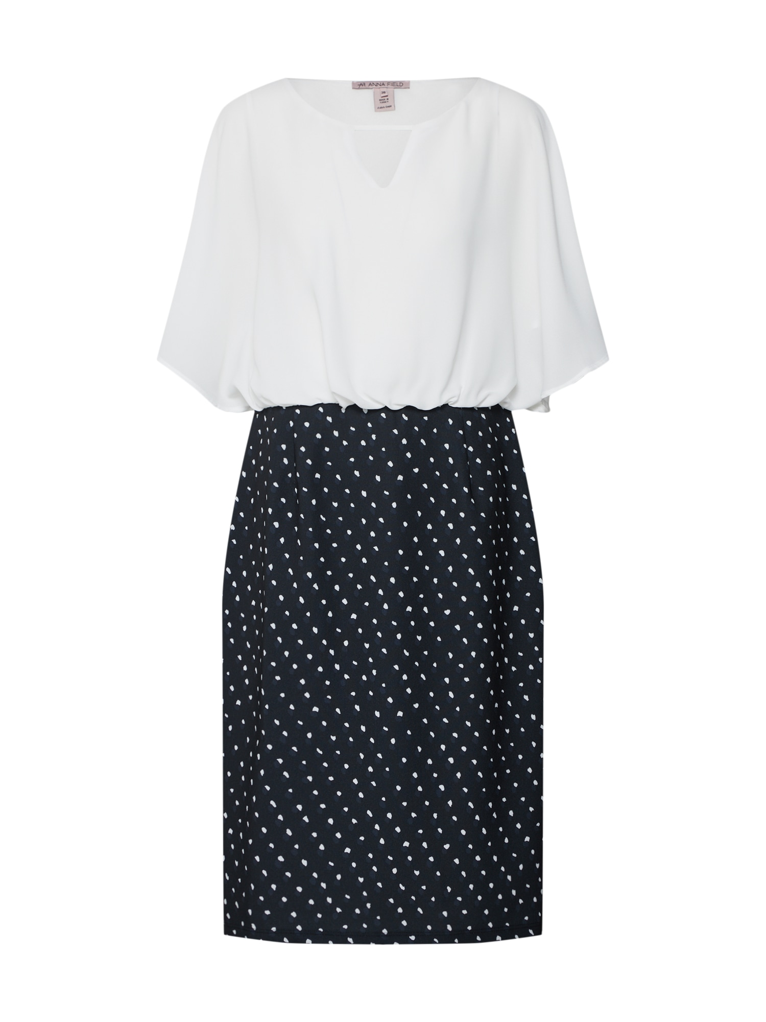Šaty černá bílá Anna Field