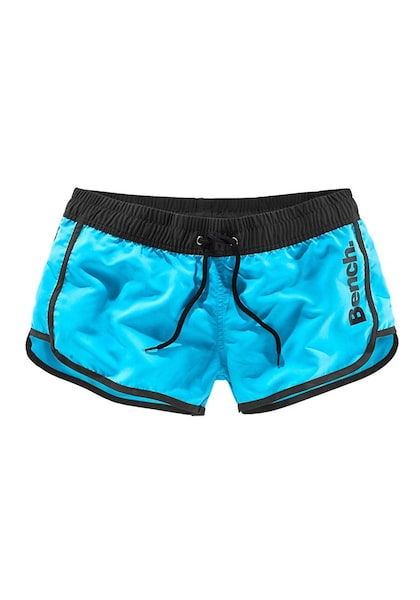 Bademode - Badeshorts › Bench › neonblau schwarz  - Onlineshop ABOUT YOU