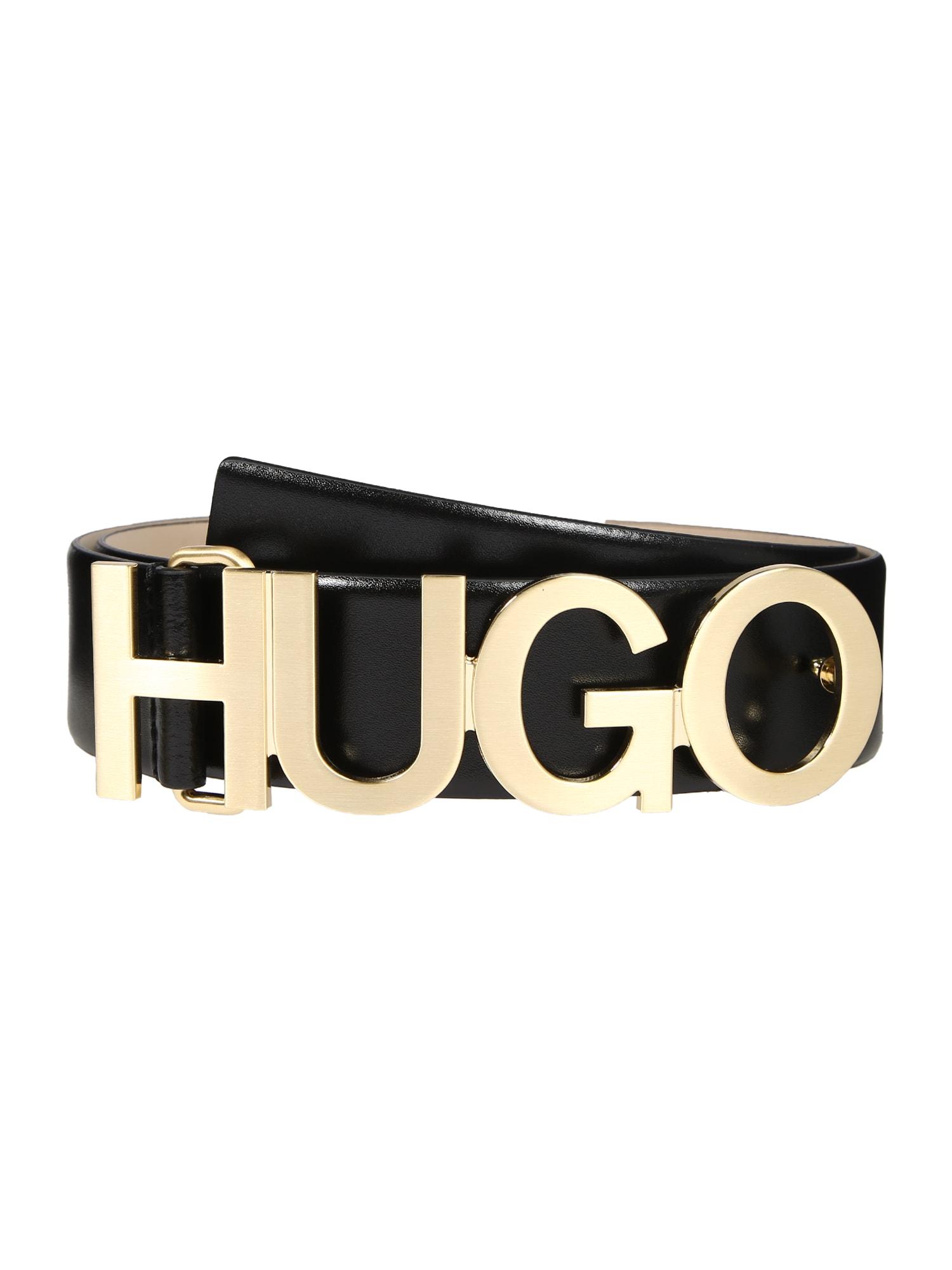 HUGO Diržas 'Zula Belt 4 cm-ZL' juoda