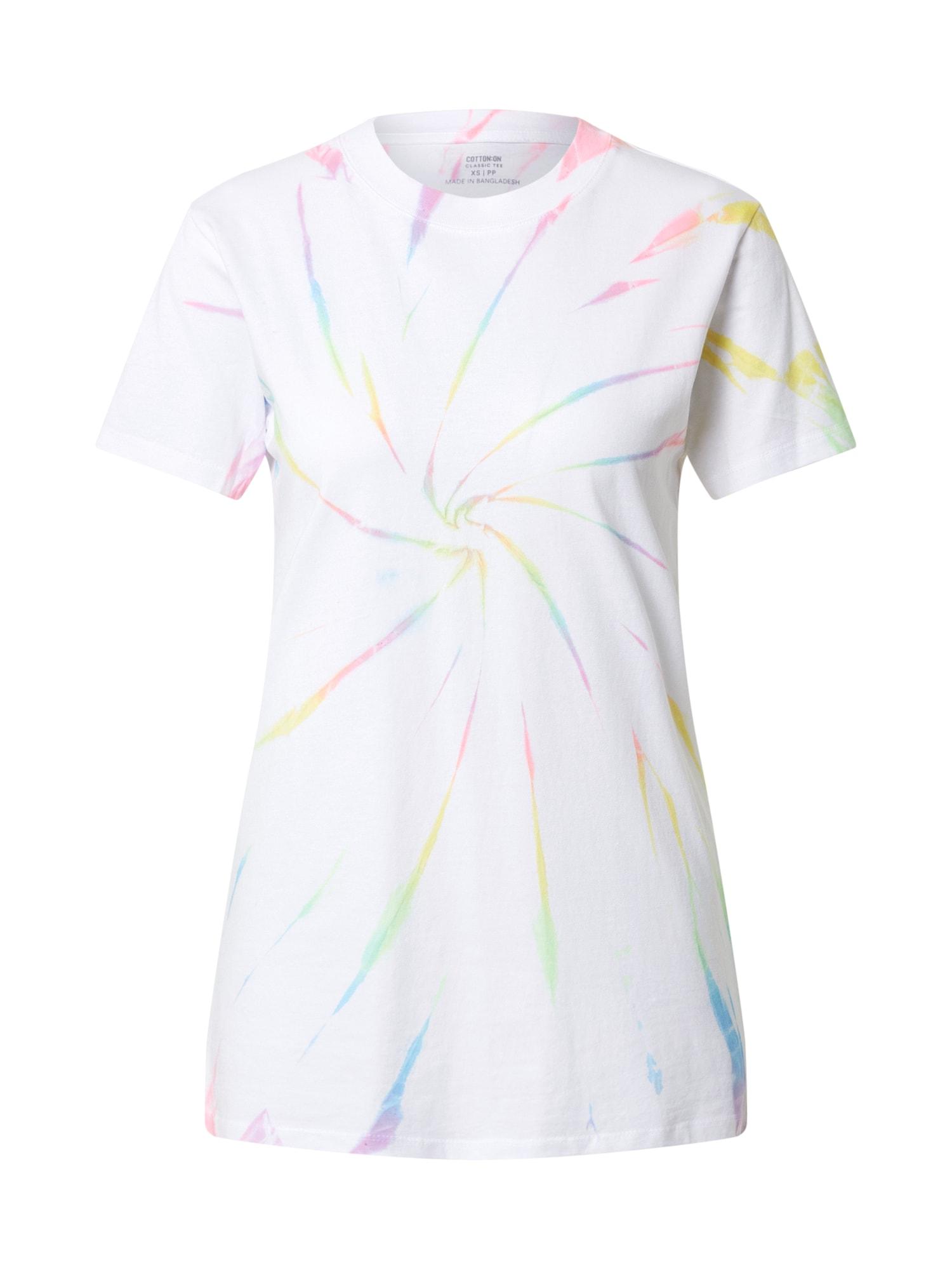 Cotton On Tričko 'CLASSIC ARTS'  biela