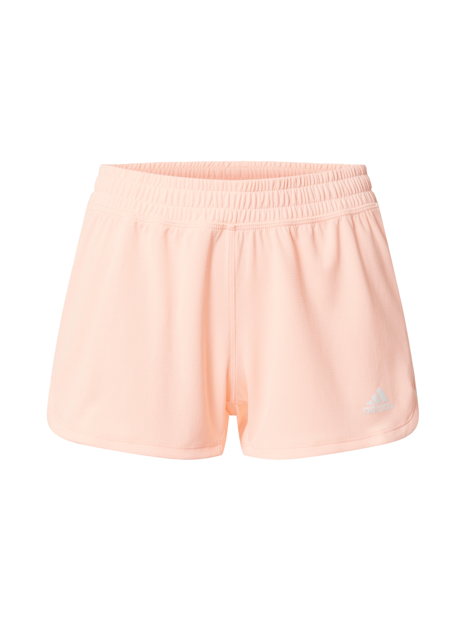 ADIDAS PERFORMANCE Sportovní kalhoty 'Pacer'  pastelově růžová / bílá