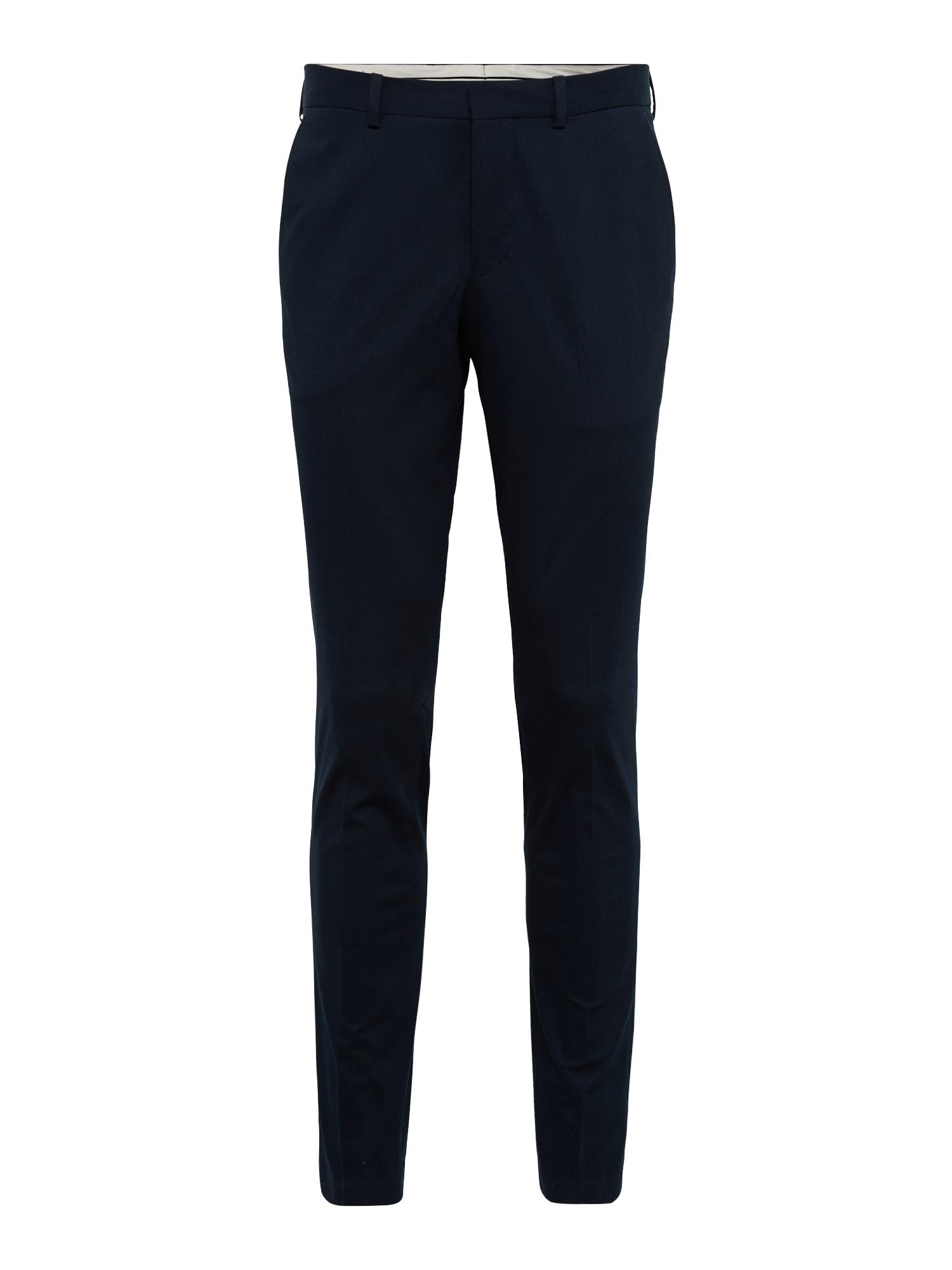 Chino kalhoty SHDSKINNY-MATHCOT námořnická modř SELECTED HOMME