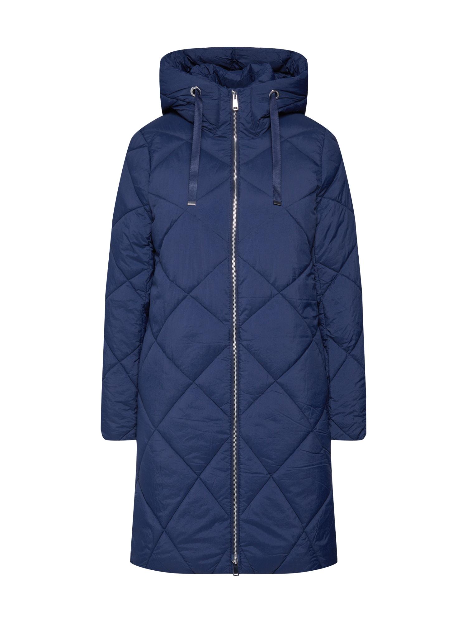 ESPRIT Zimní kabát 'Quilted coat'  námořnická modř