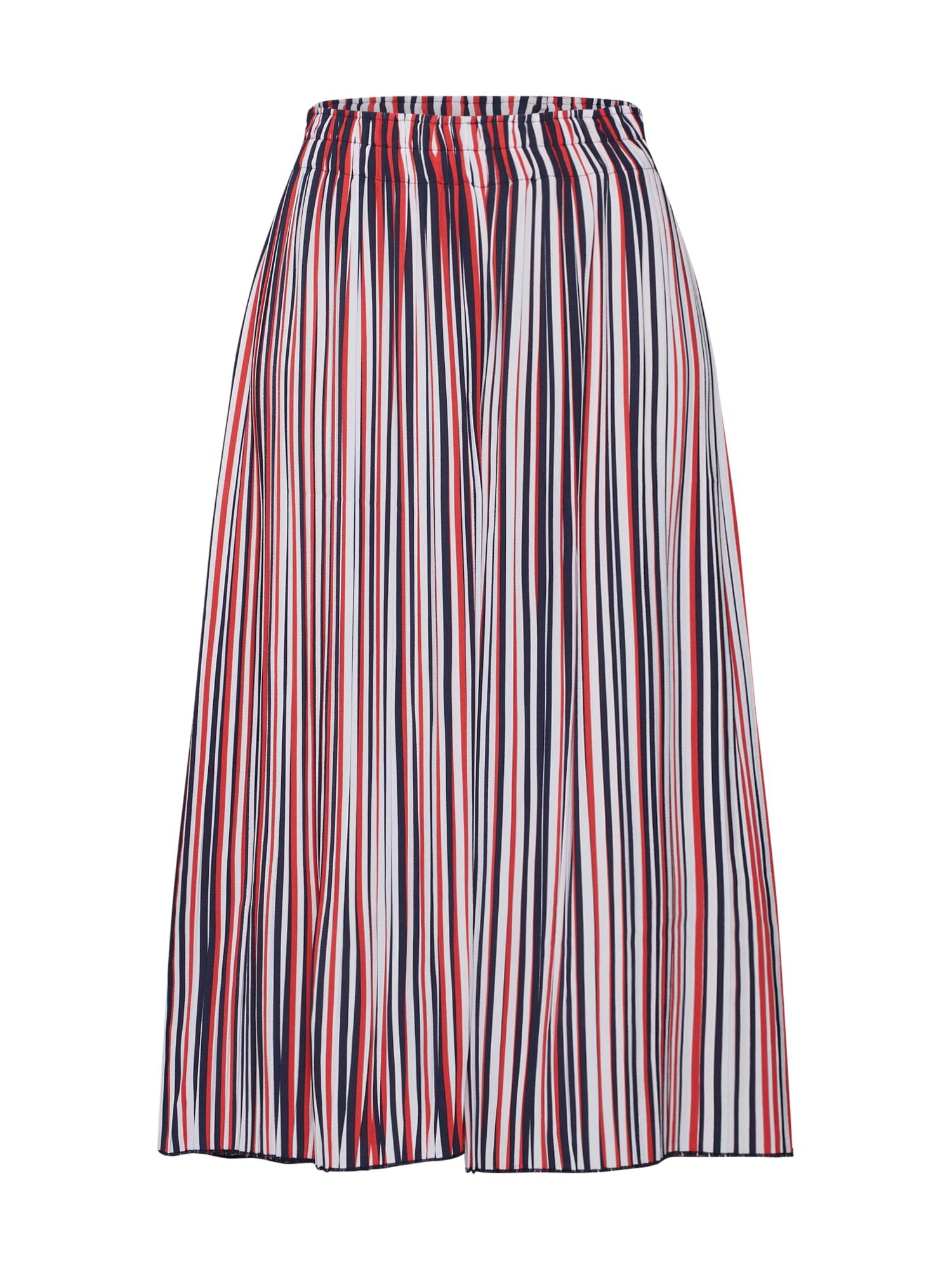Kalhoty námořnická modř červená bílá Re.draft