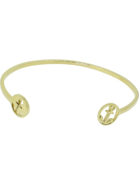 Armbaender - Armreif 'Glamour Collection 110518' › Hafen Klunker › gold  - Onlineshop ABOUT YOU