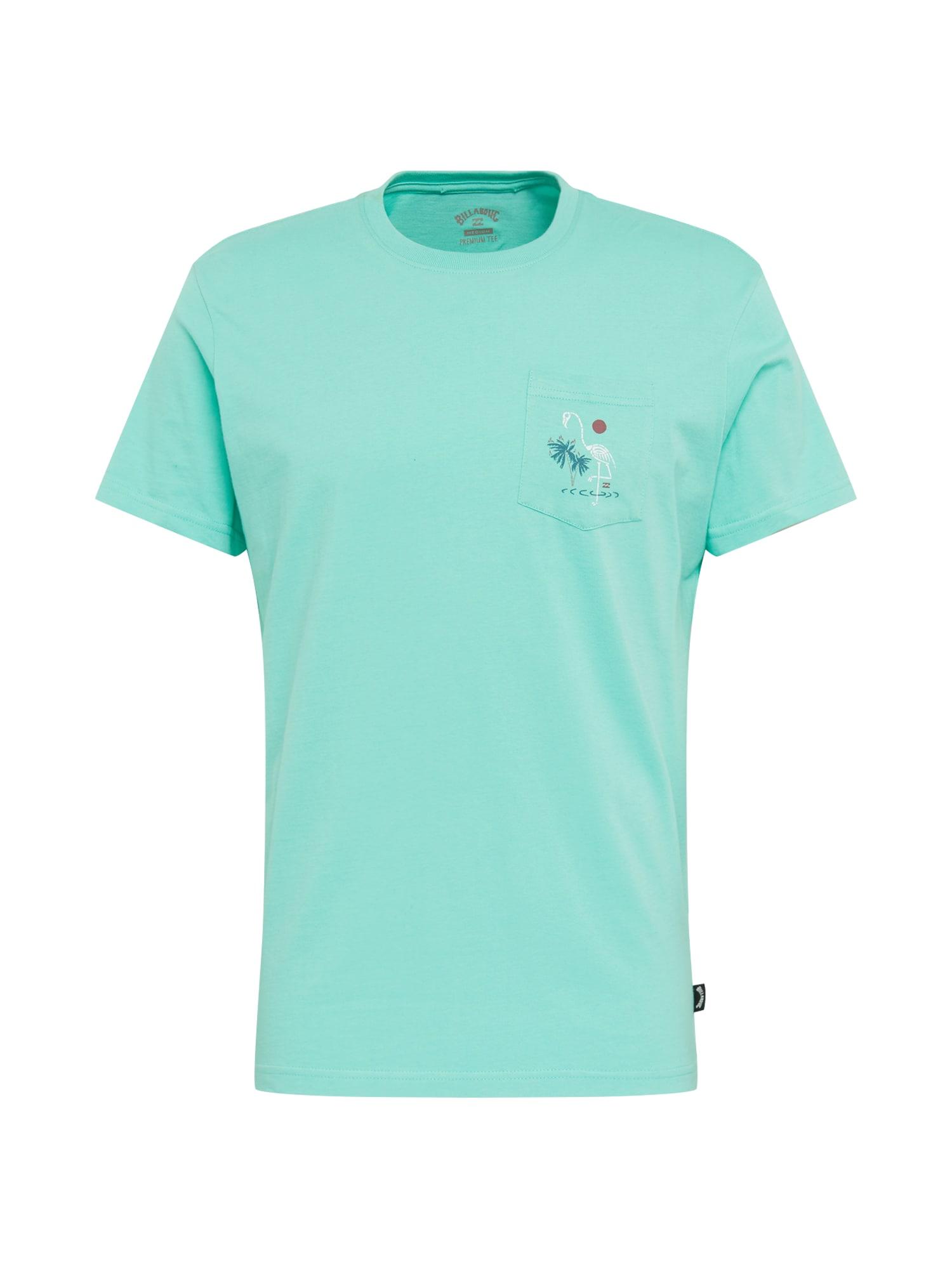 BILLABONG Marškinėliai 'SHOONER' vandens spalva
