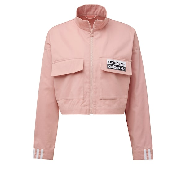 Jacken - Track Top › ADIDAS ORIGINALS › rosa schwarz weiß  - Onlineshop ABOUT YOU