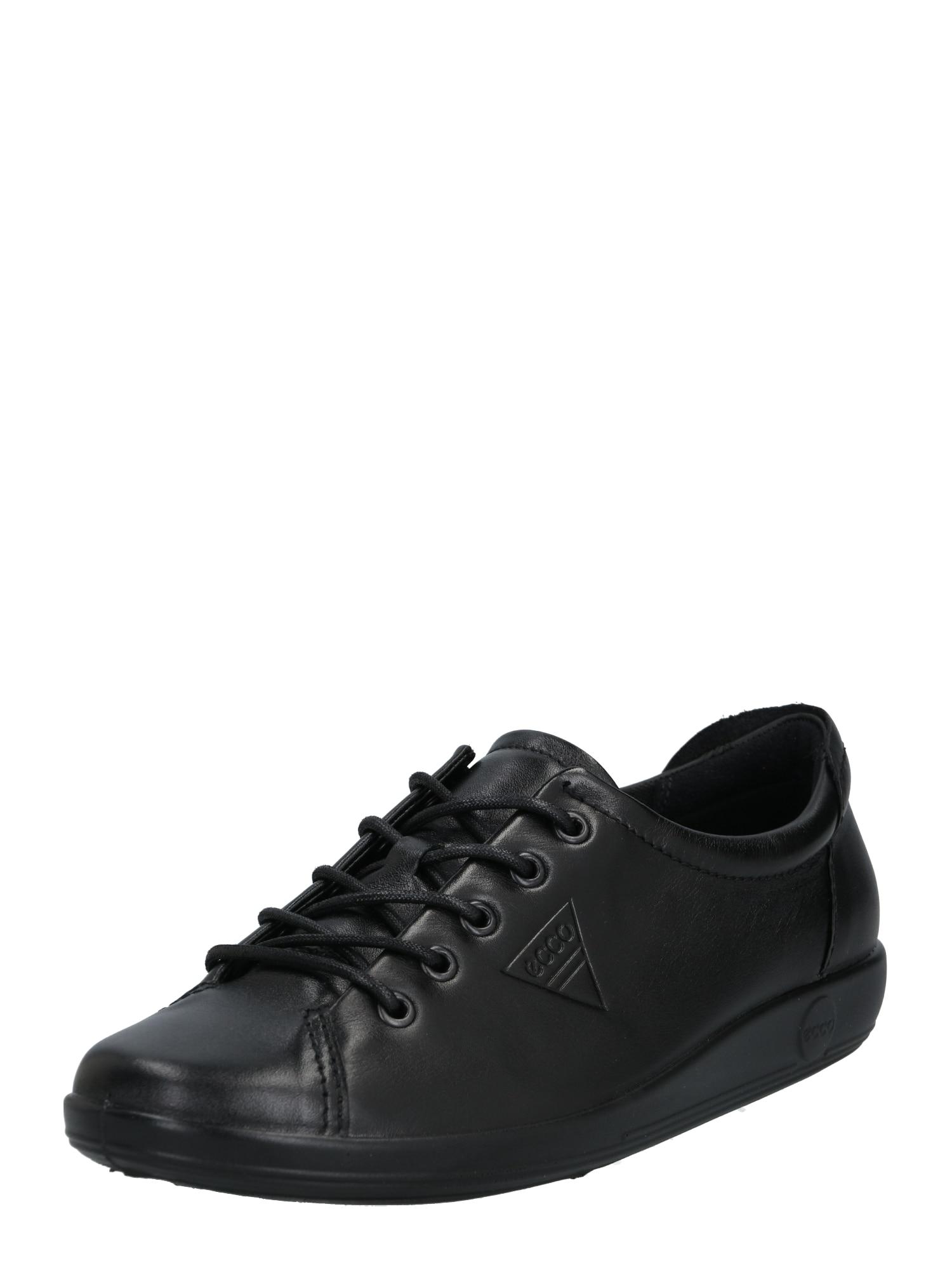 ECCO Sportinio stiliaus batai su raišteliais juoda