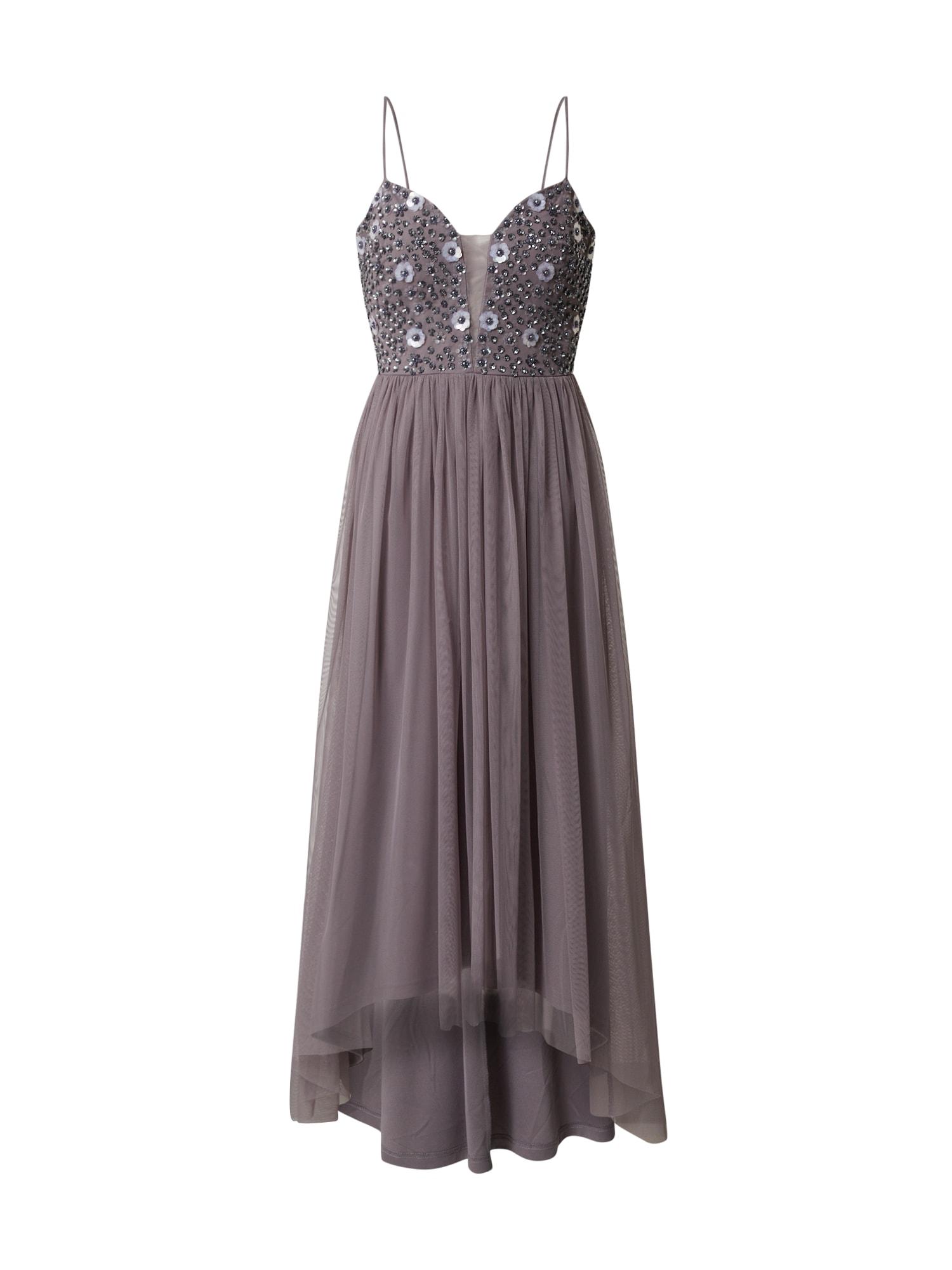 SWING Vakarinė suknelė purpurinė / mėlyna