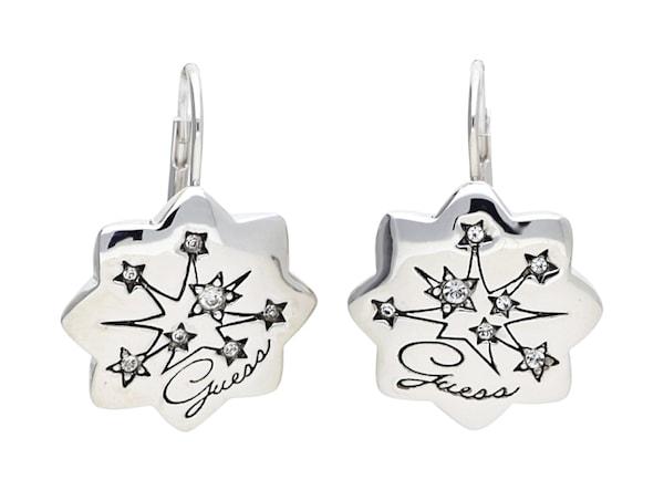 Ohrringe für Frauen - GUESS Ohrringe 'UBE31313' silber  - Onlineshop ABOUT YOU