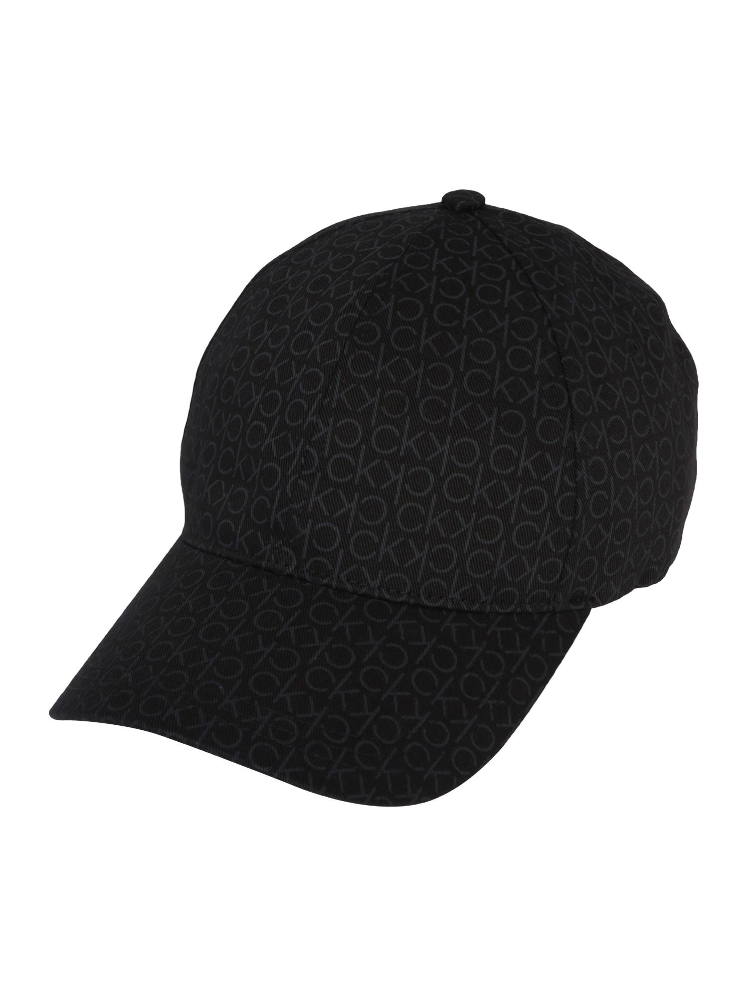 Calvin Klein Kepurė 'MONO BLEND' juoda
