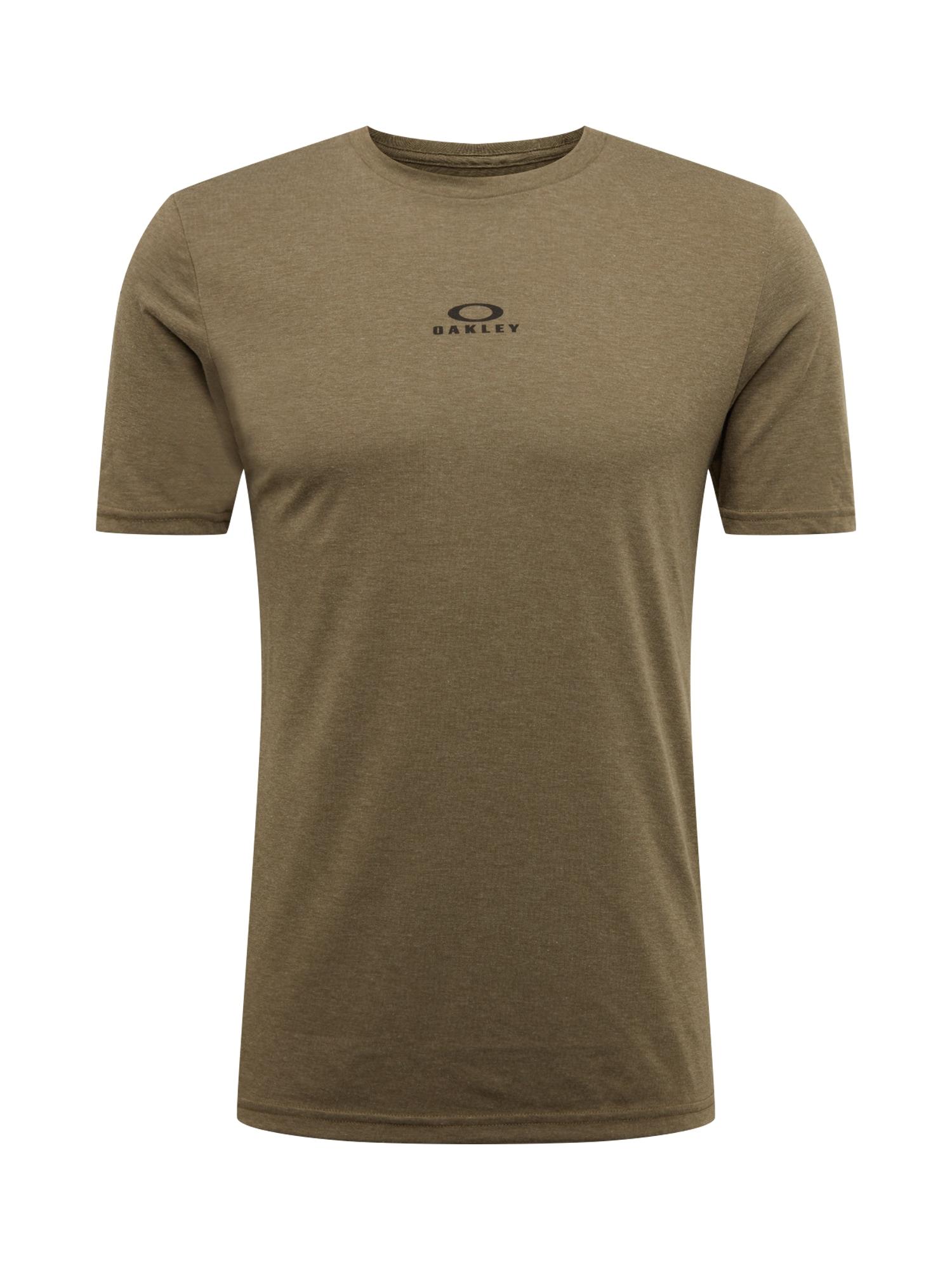 OAKLEY Sportiniai marškinėliai 'BARK NEW SS' ruda