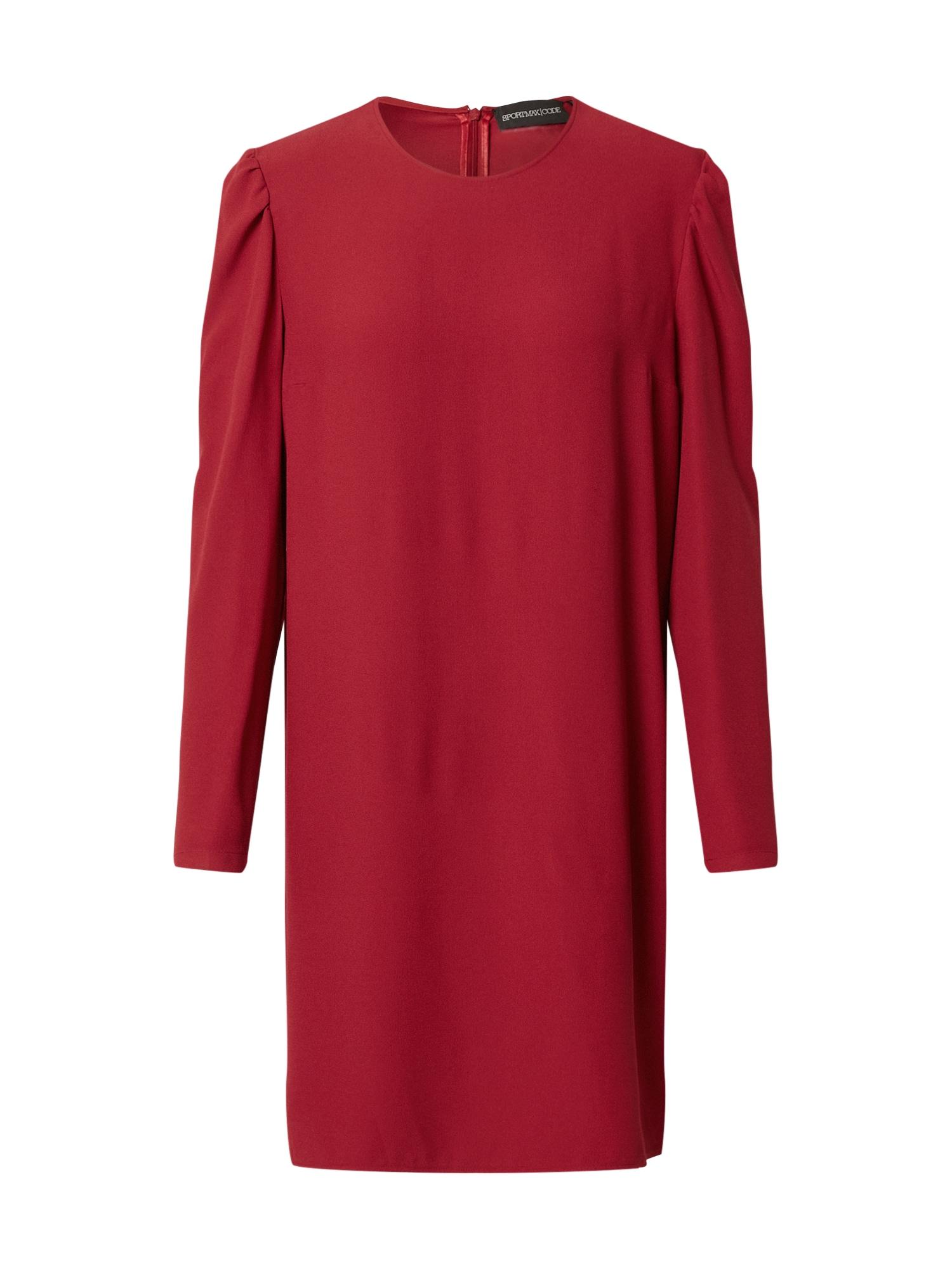 Sportmax Code Suknelė raudona