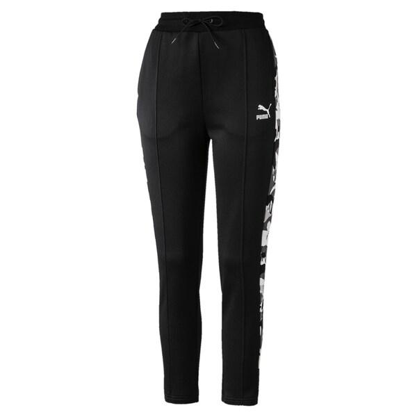Hosen für Frauen - PUMA Trainingshose khaki schwarz weiß  - Onlineshop ABOUT YOU