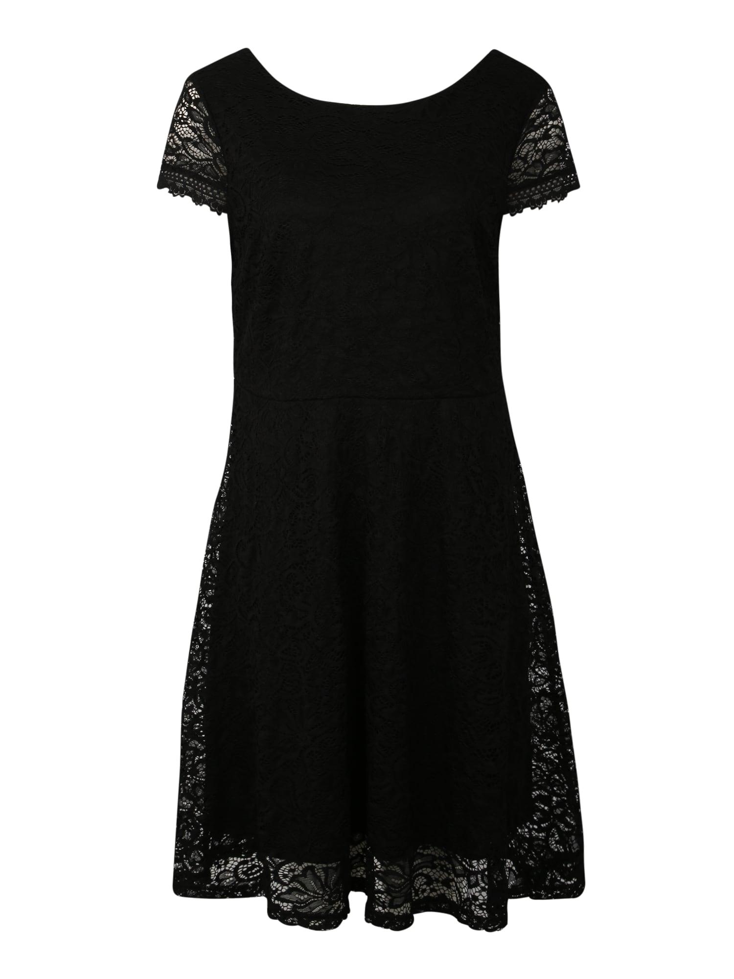 Šaty VMSASSA CAPSL černá Vero Moda Curve