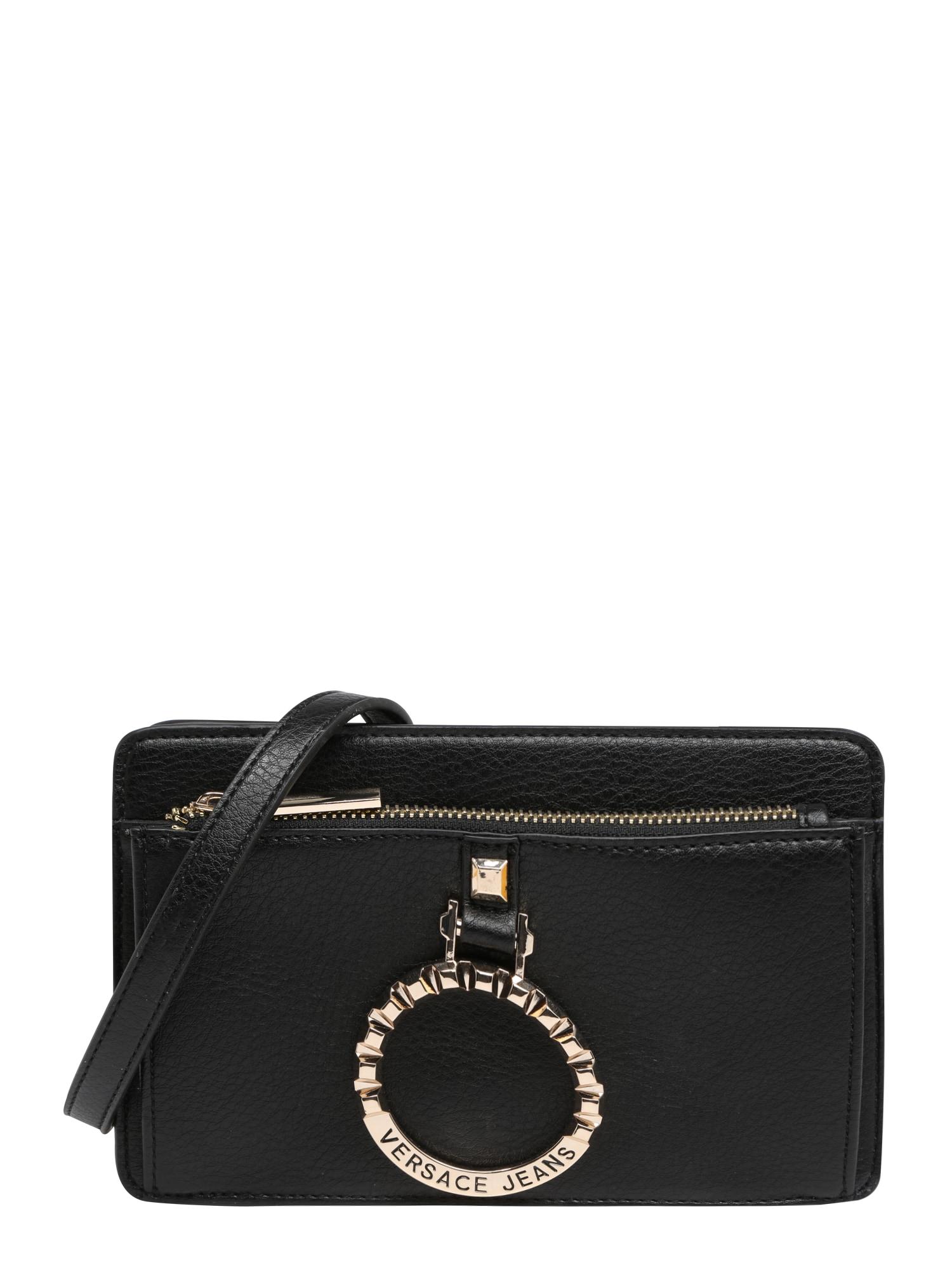 Taška přes rameno VTBBA3 černá Versace Jeans