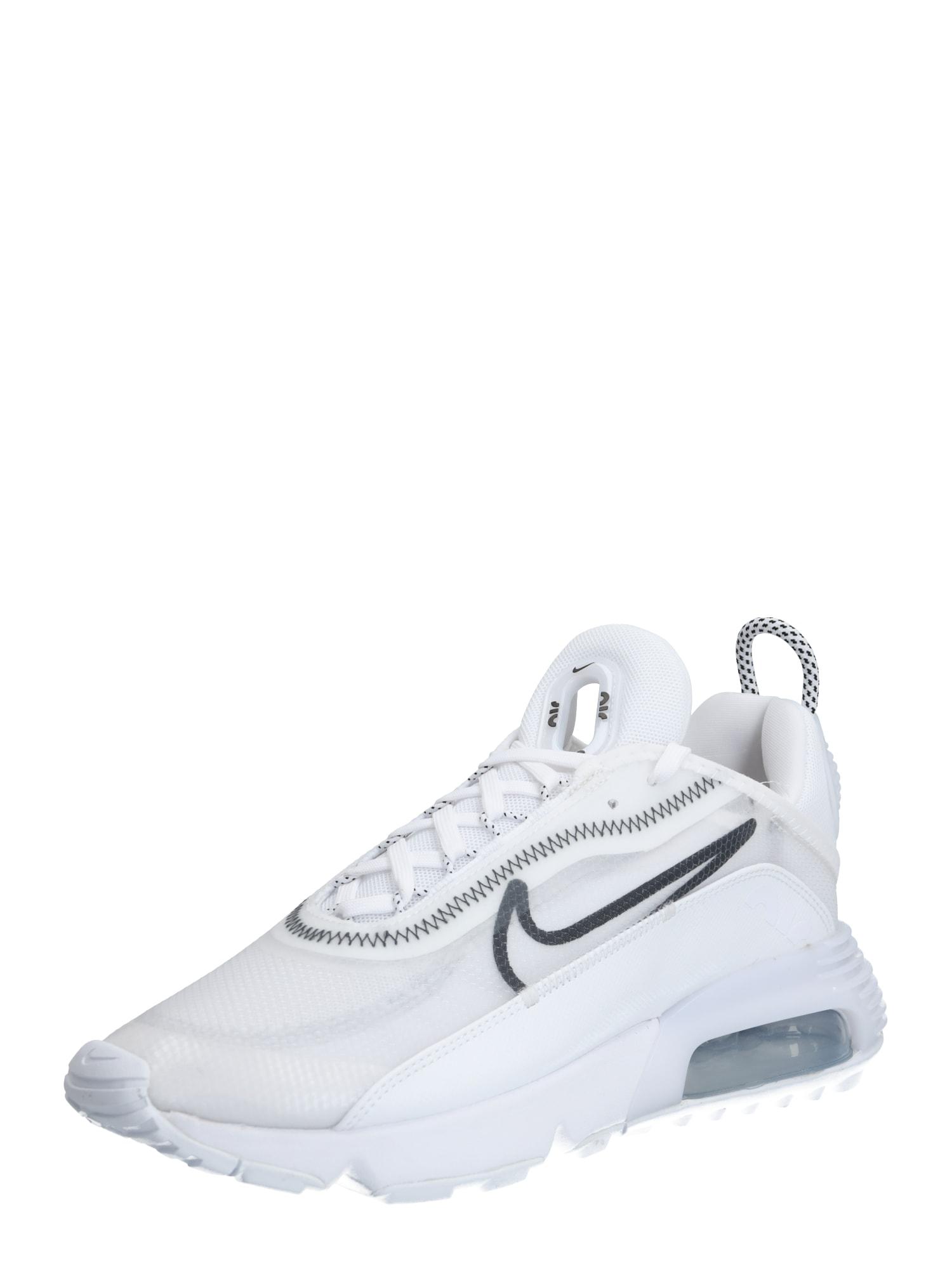 NIKE Športová obuv  čierna / sivá / biela