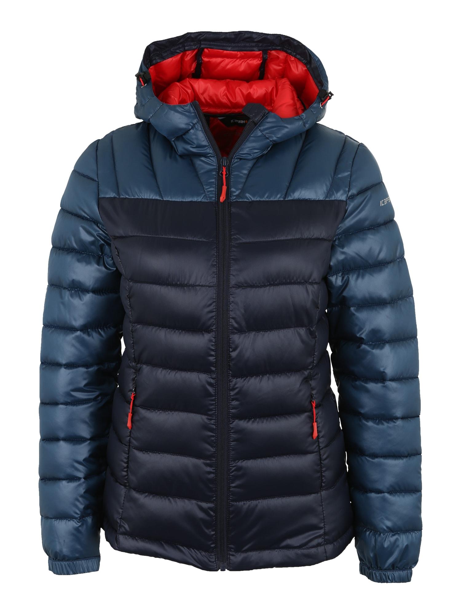 Outdoorová bunda Layan námořnická modř chladná modrá ICEPEAK
