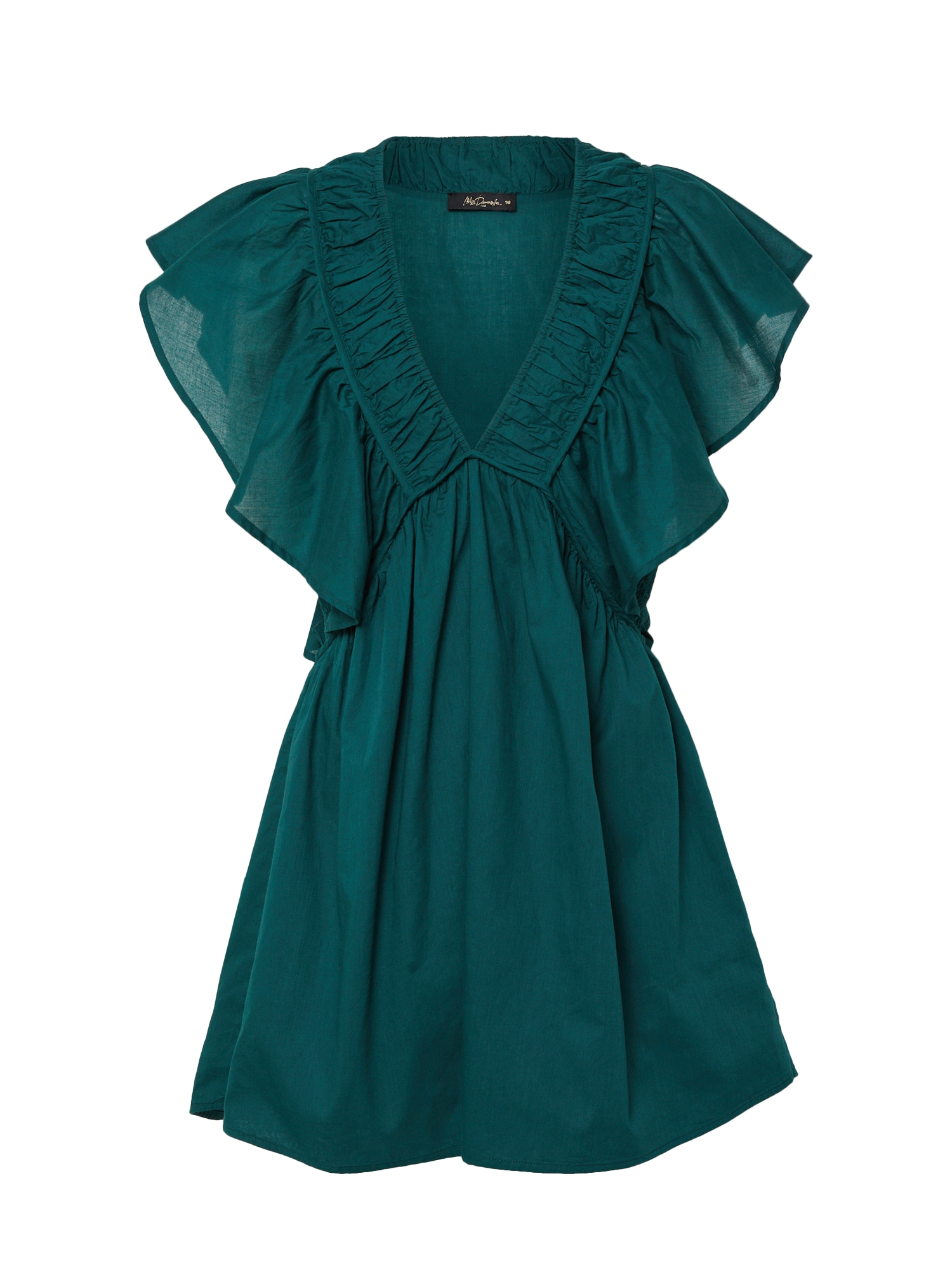 Mes Demoiselles Tunika 'Calixte' smaragdinė spalva