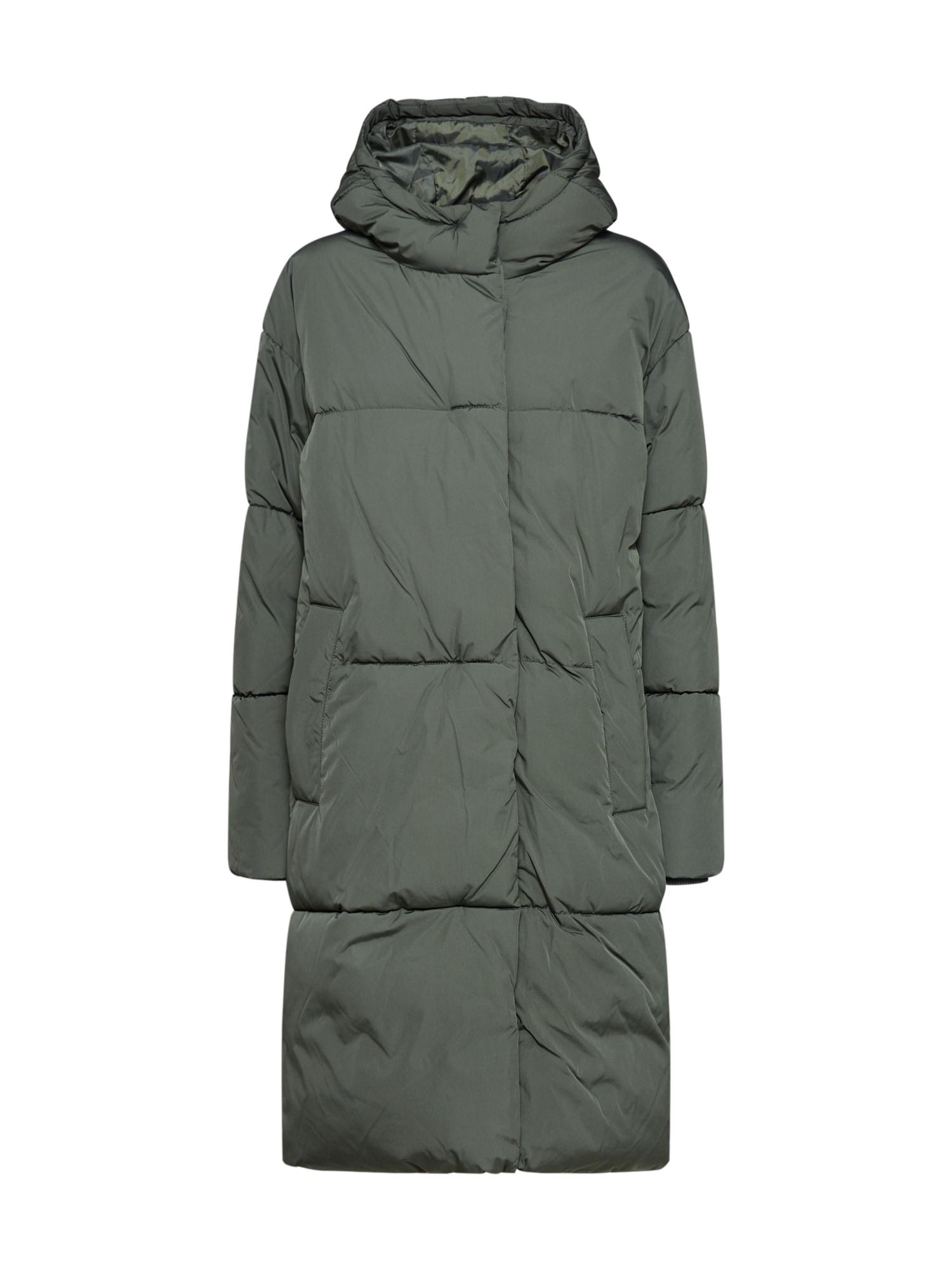 mbym Žieminis paltas 'Merian' rusvai žalia