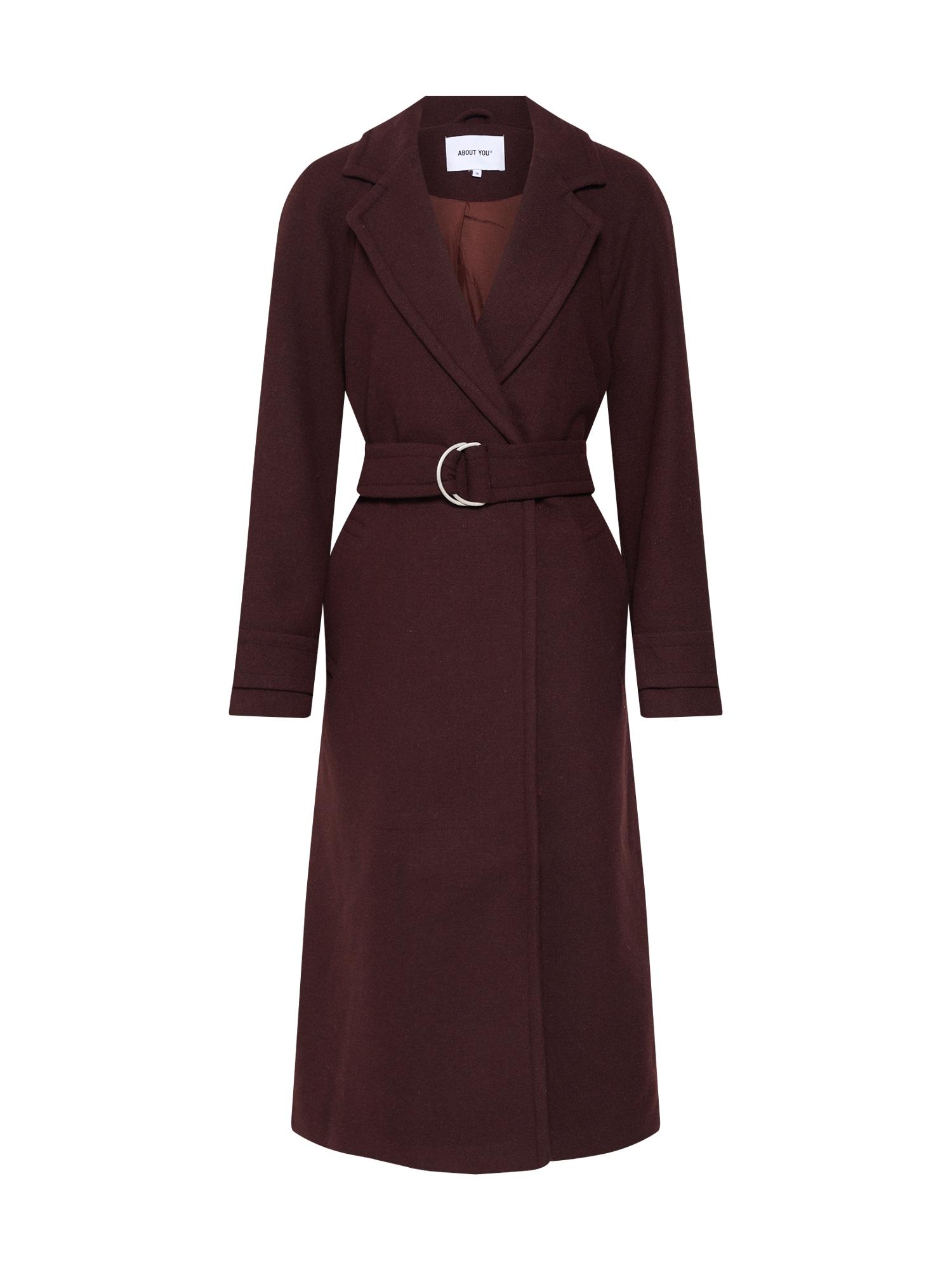 ABOUT YOU Rudeninis-žieminis paltas 'Antonietta' ruda