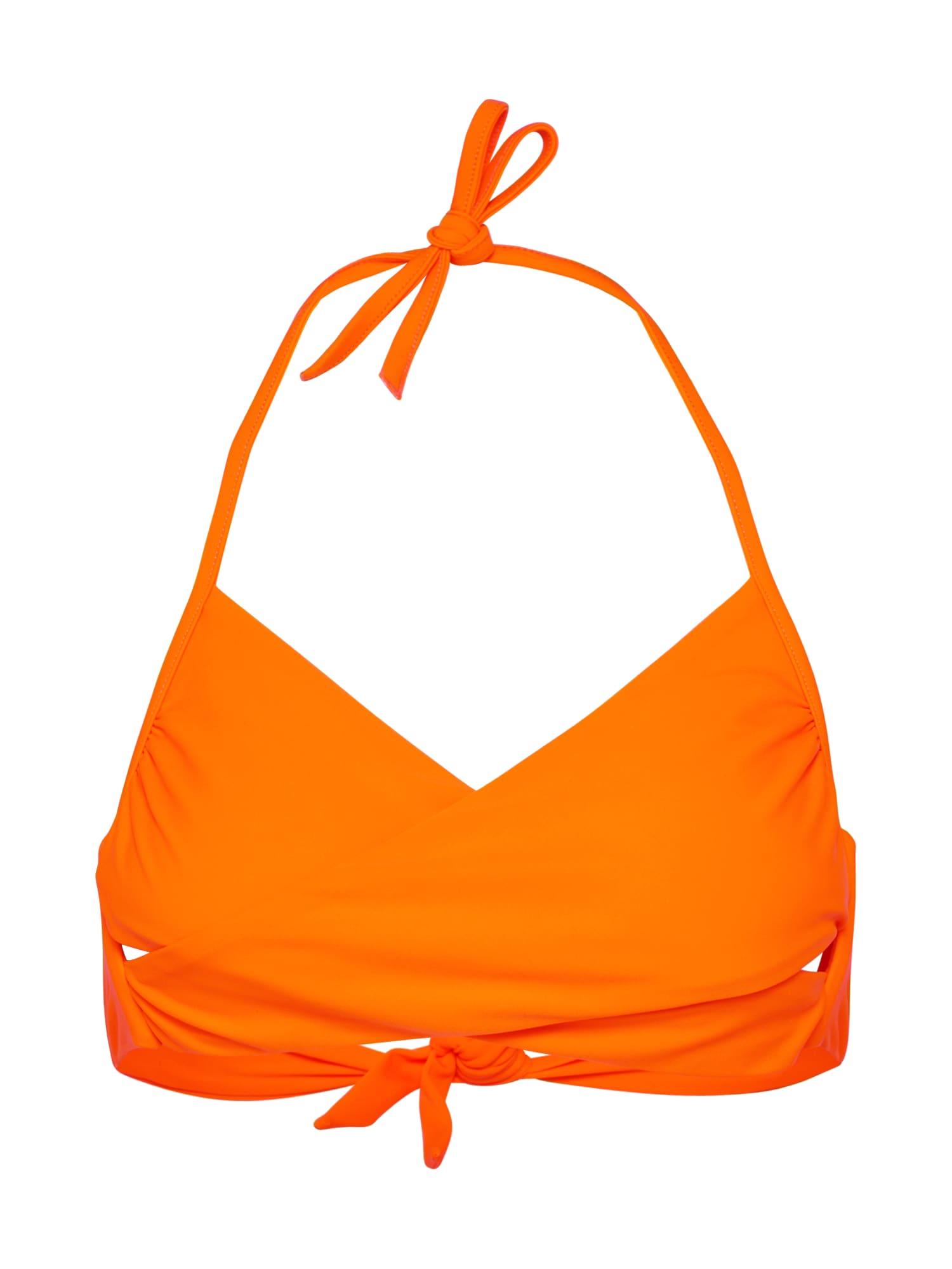 Horní díl plavek Hira oranžová EDITED