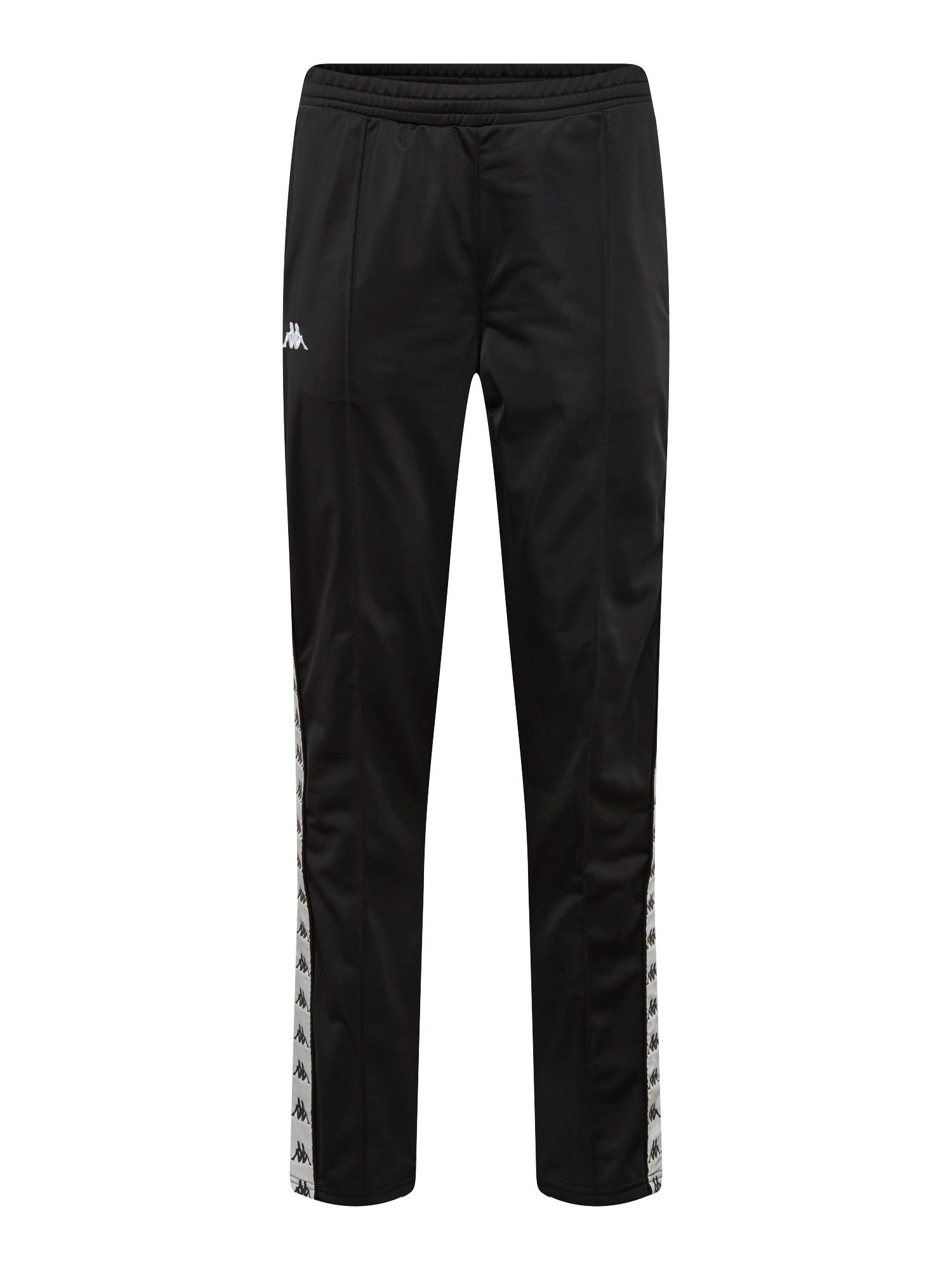 Kalhoty EIBO černá bílá KAPPA