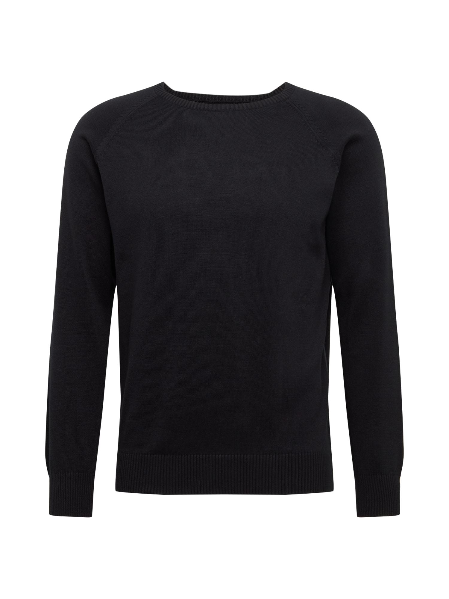 MELAWEAR Megztinis juoda