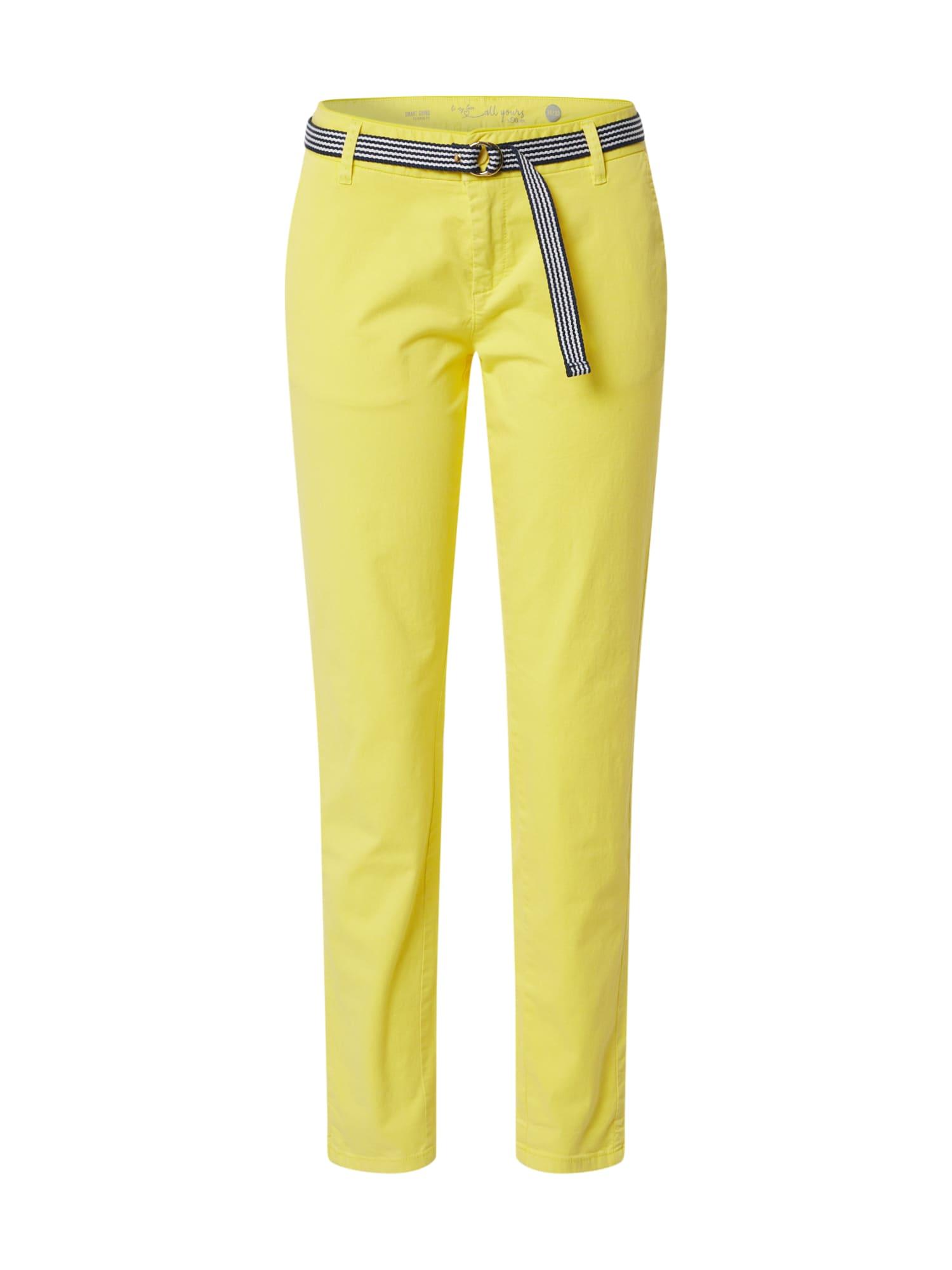 s.Oliver Nohavice  žlté / zmiešané farby