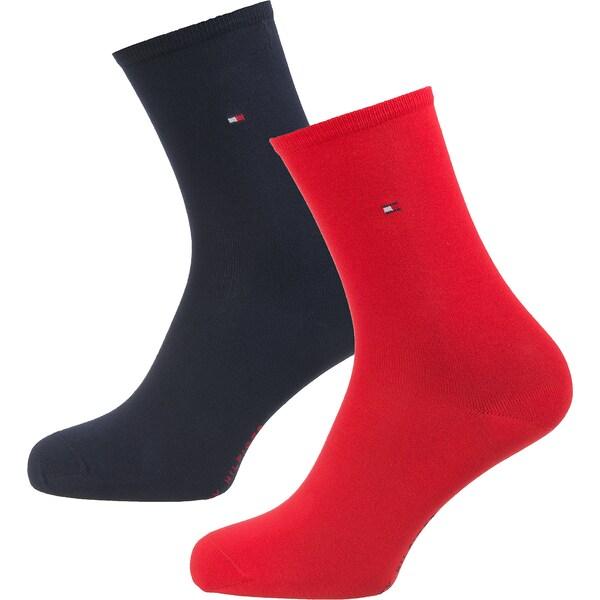 Socken für Frauen - TOMMY HILFIGER Socken rot  - Onlineshop ABOUT YOU