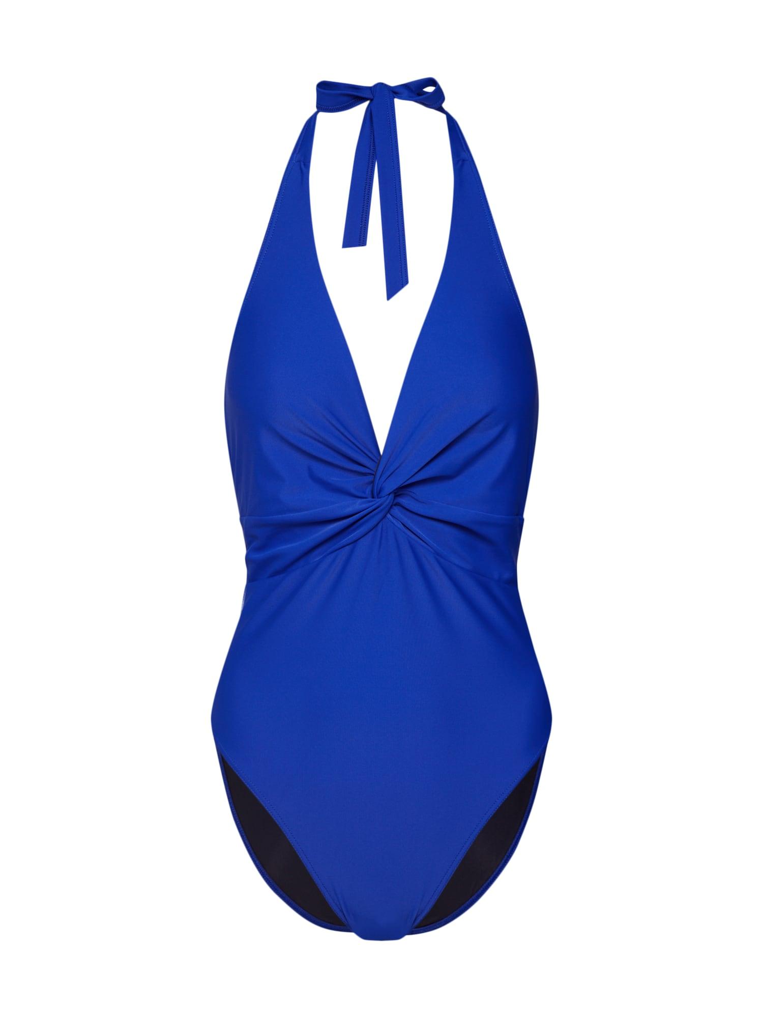Plavky Naomi modrá ABOUT YOU X Sarina Nowak