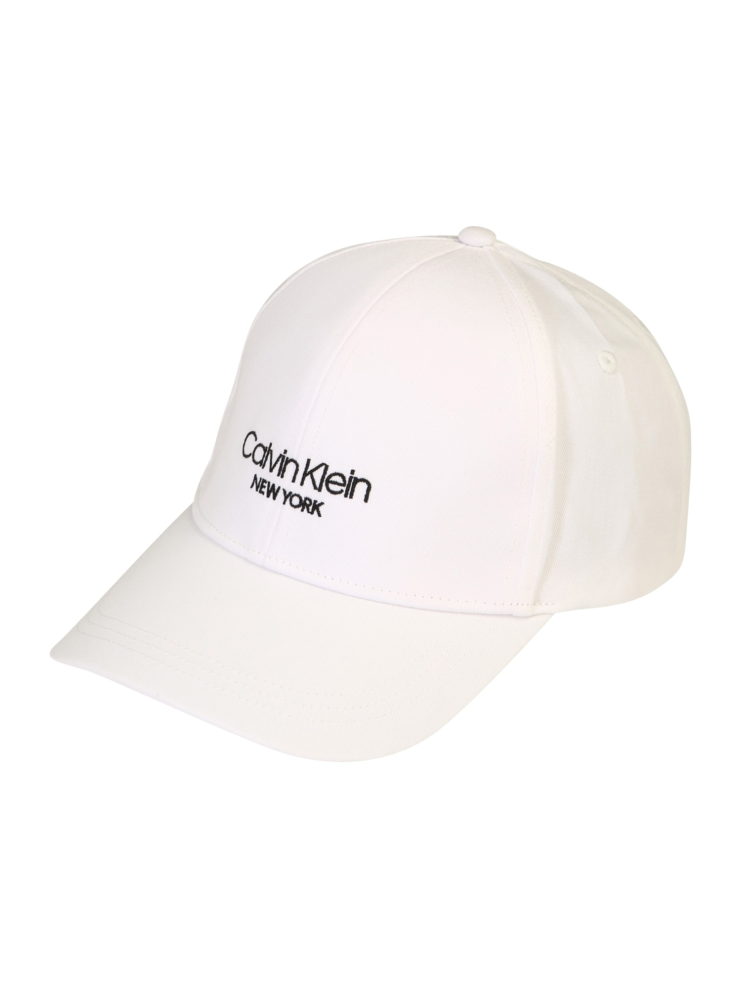 Calvin Klein Čiapka  biela / čierna