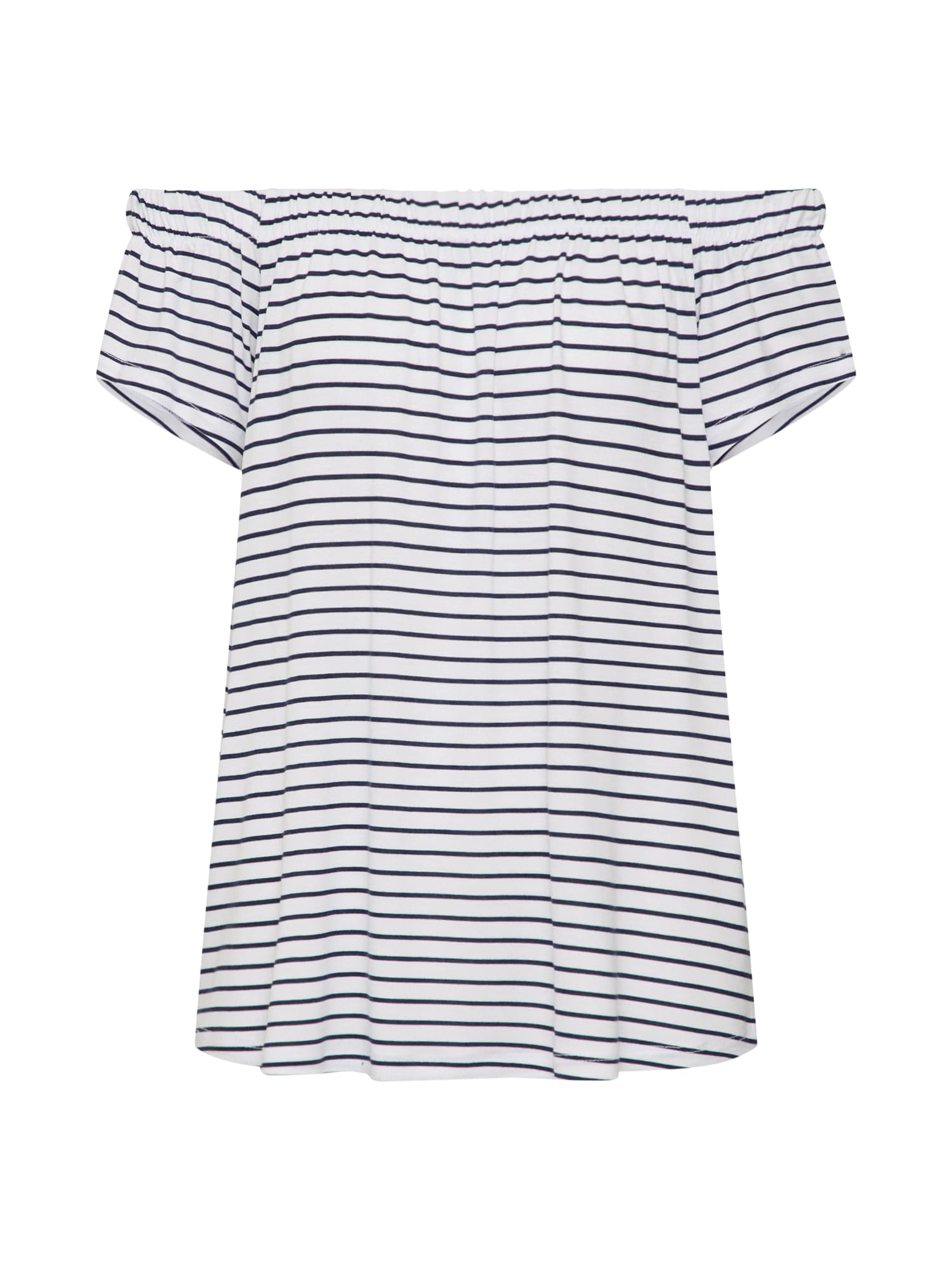 Sublevel Tricou  navy / alb