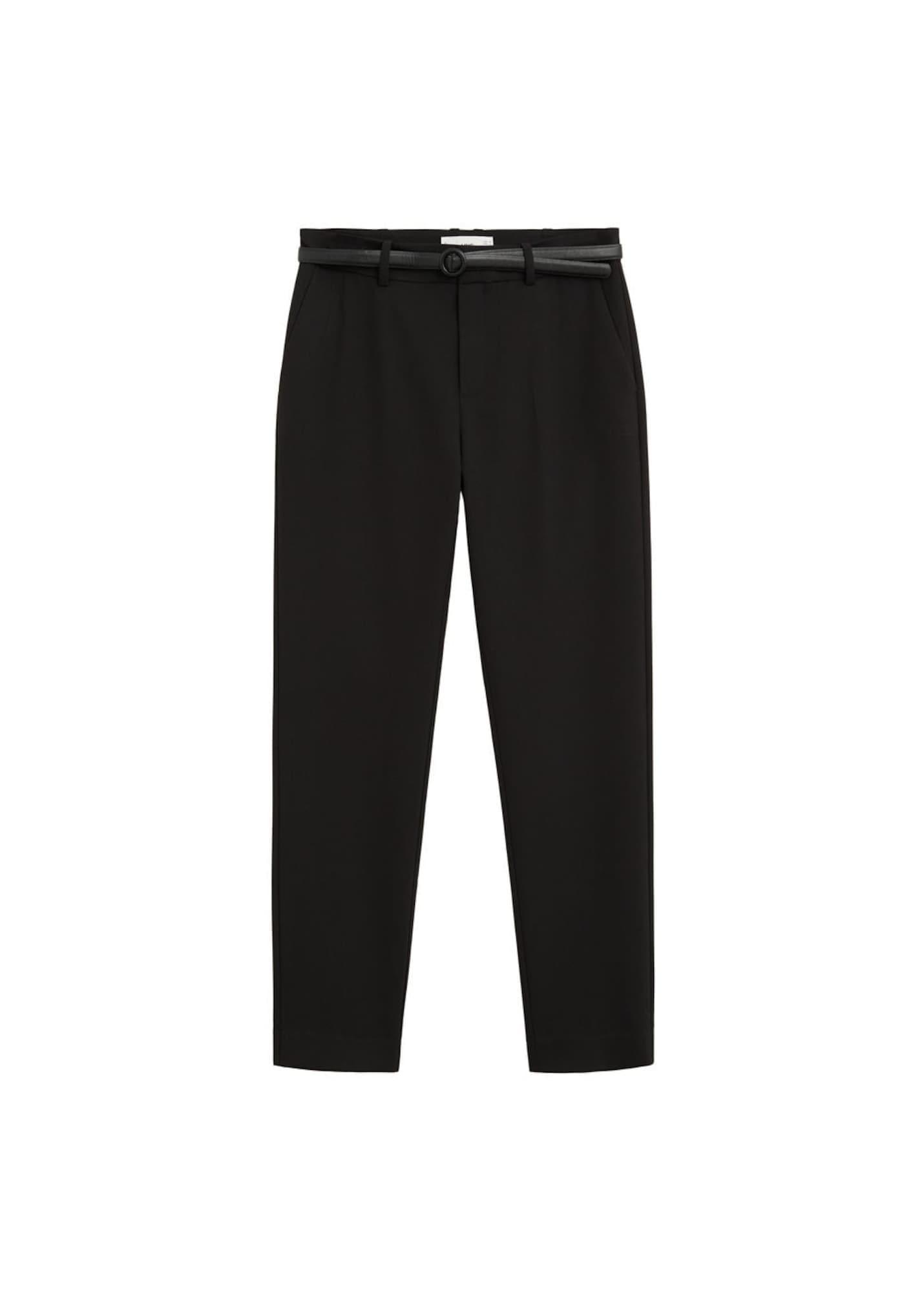 MANGO Kalhoty 'Boreal'  černá
