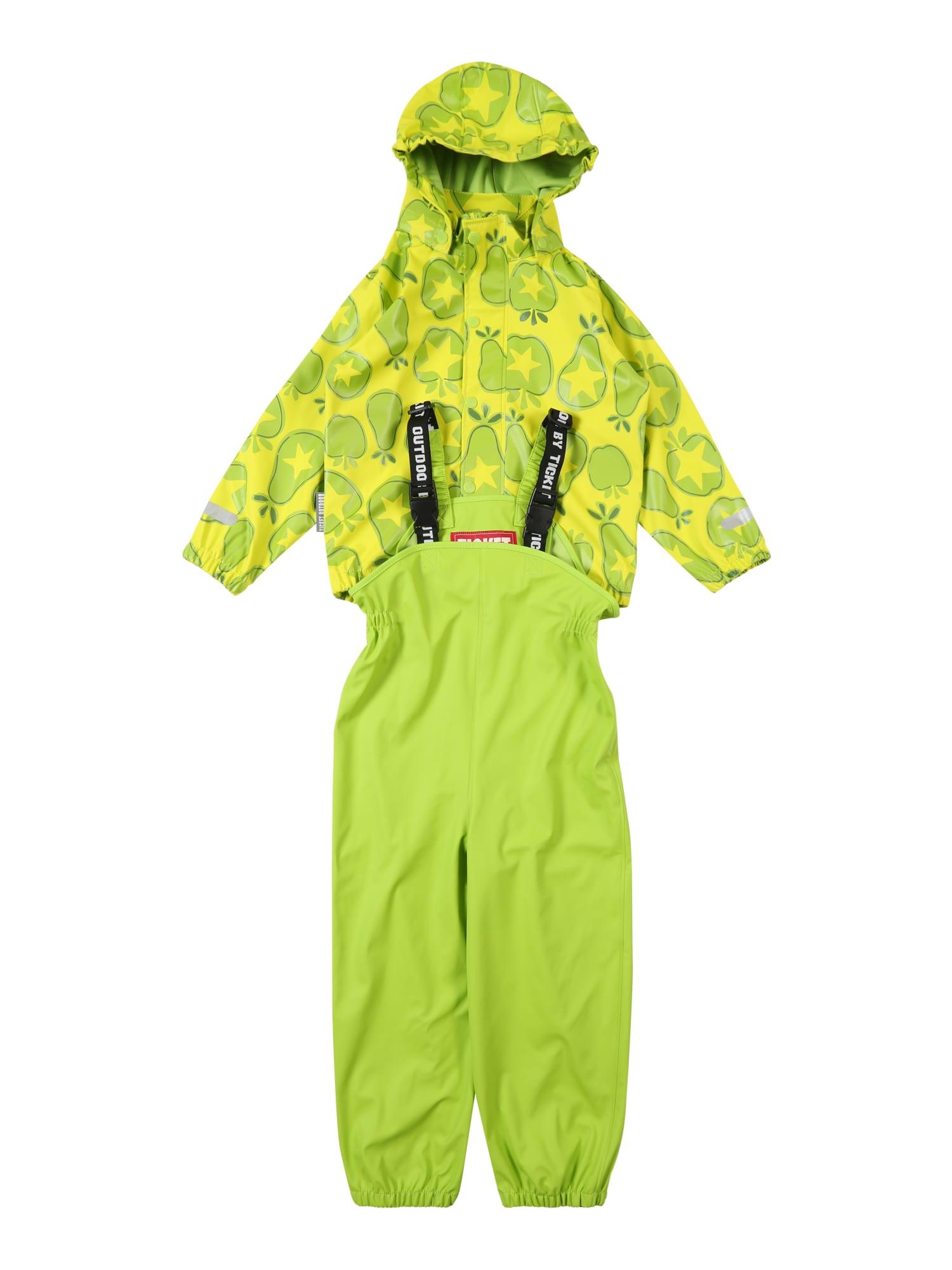 Funkční oblek zelená TICKET TO HEAVEN