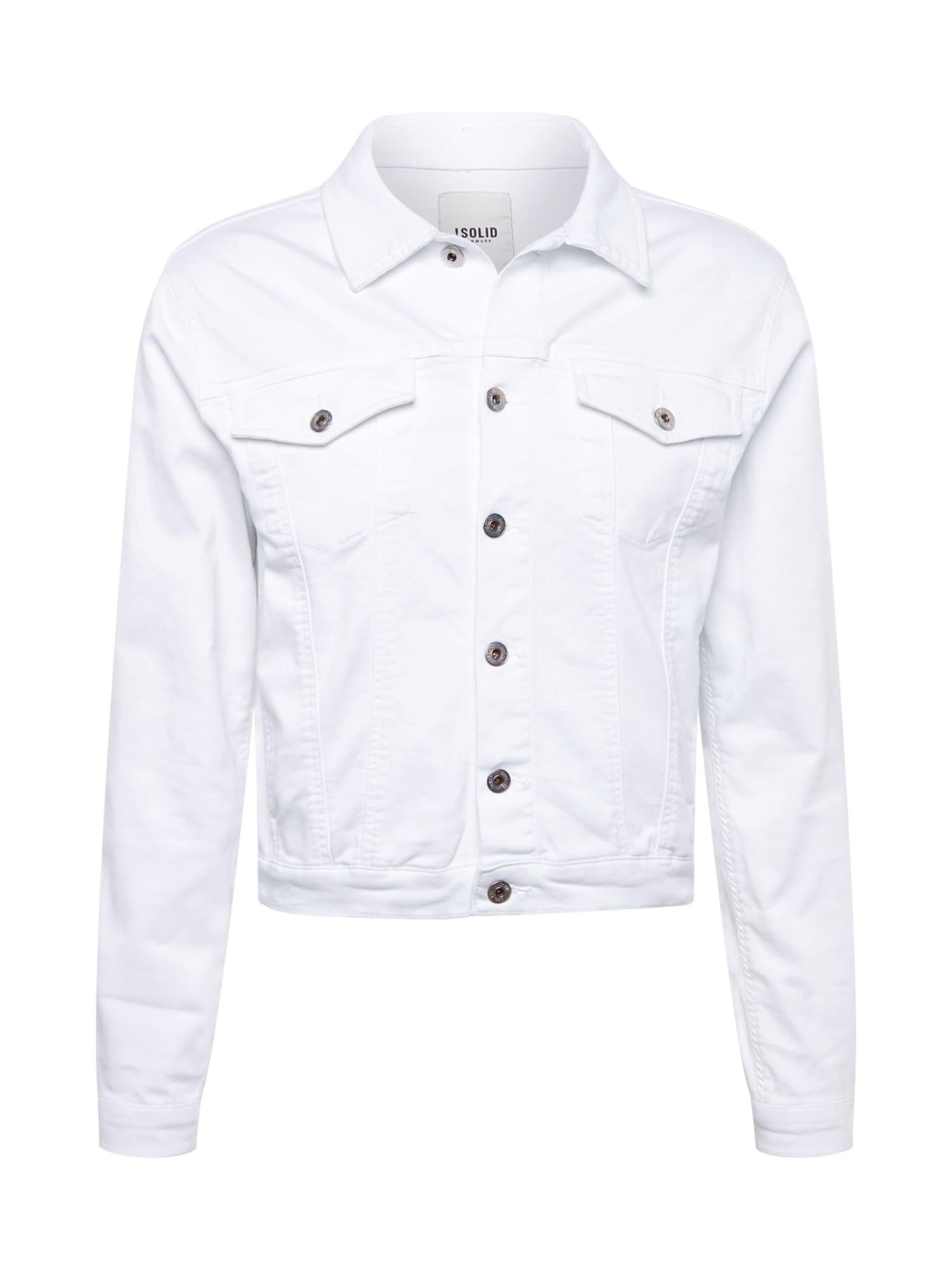 Přechodná bunda bílá !Solid