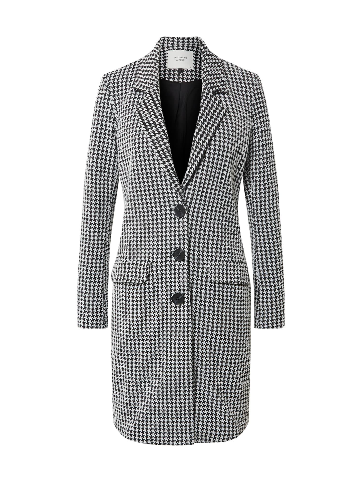 JACQUELINE de YONG Přechodný kabát  tmavě šedá