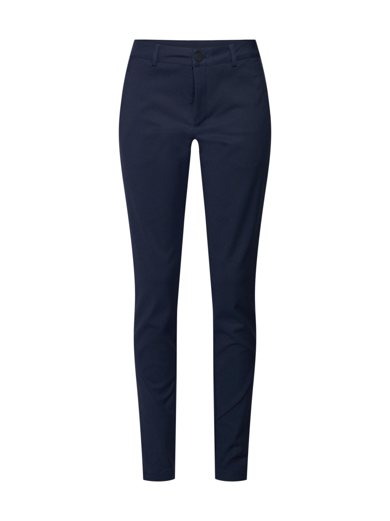 Kalhoty Cecily noční modrá Kaffe