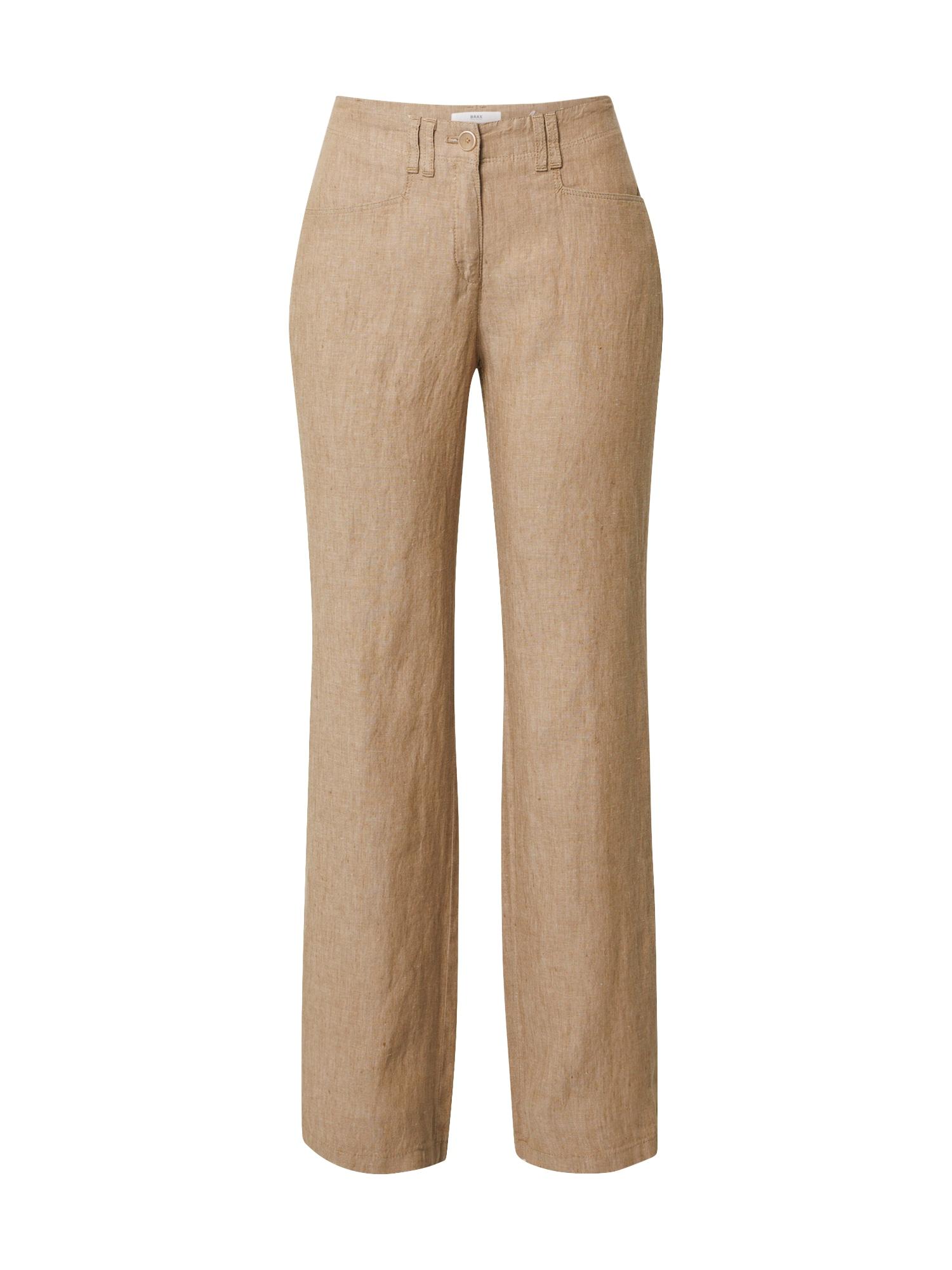 BRAX Kelnės 'FARINA' šviesiai ruda