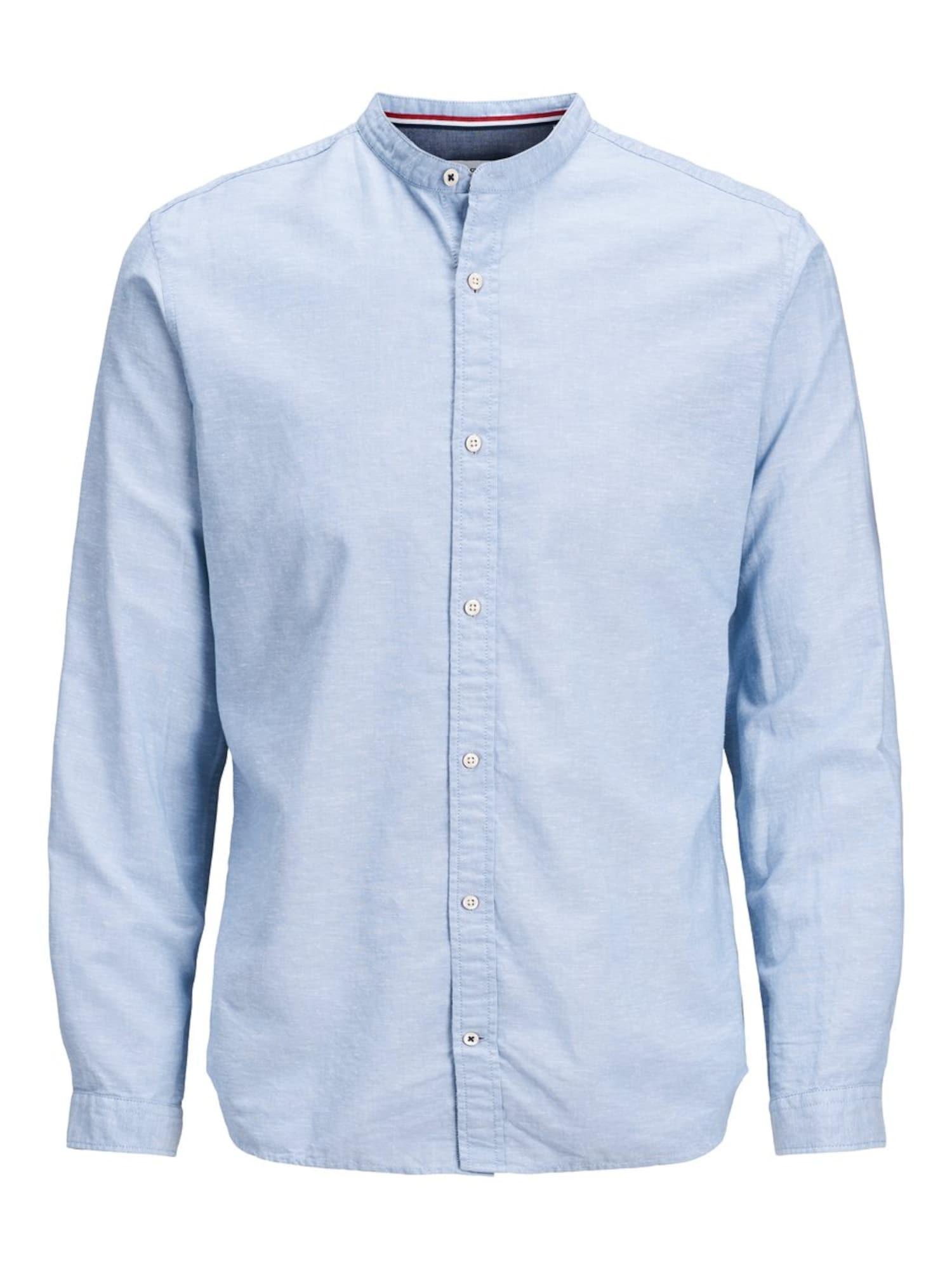 JACK & JONES Marškiniai šviesiai mėlyna