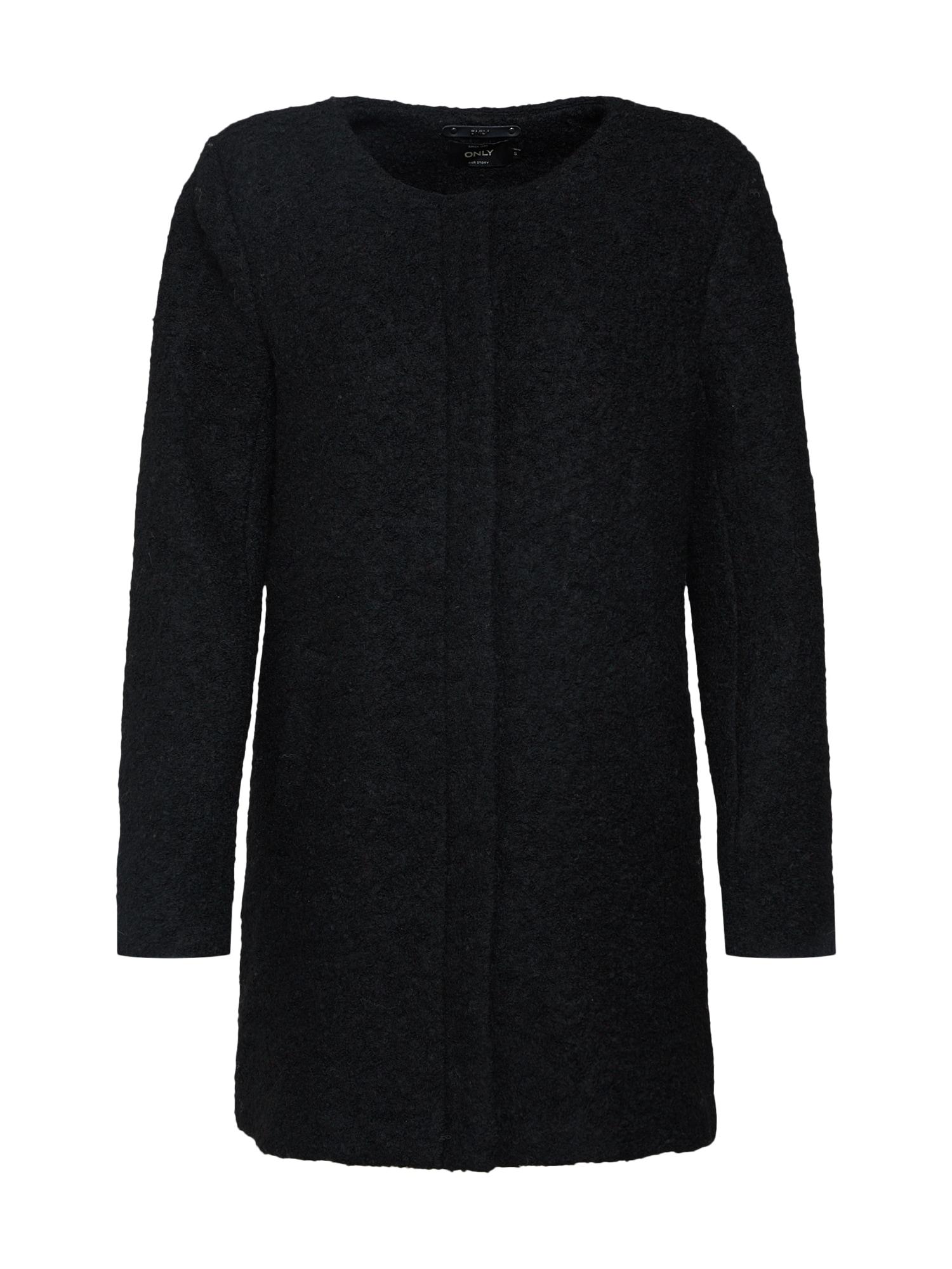 Zimní kabát černá ONLY