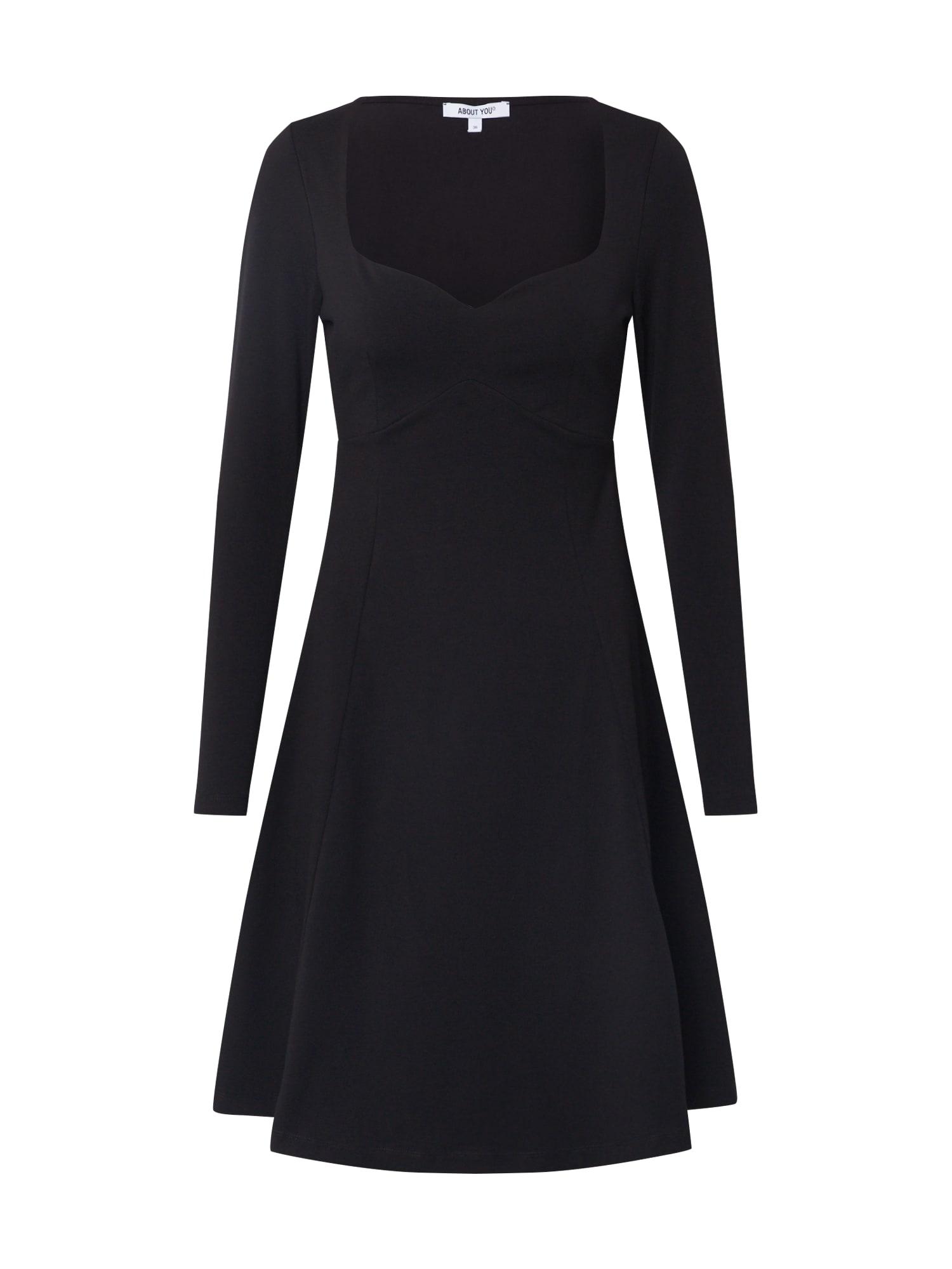 ABOUT YOU Kokteilinė suknelė 'Anusha' juoda