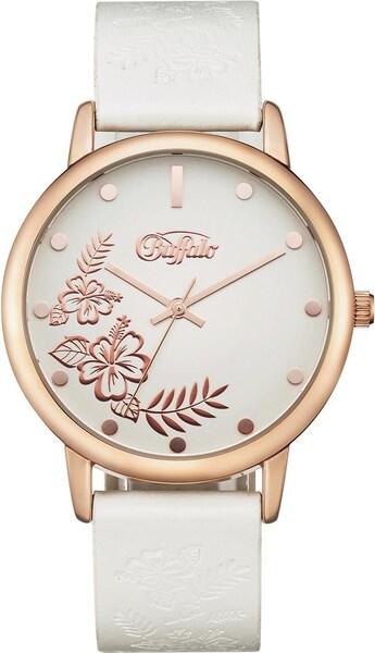 Uhren für Frauen - BUFFALO Quarzuhr rosegold weiß  - Onlineshop ABOUT YOU
