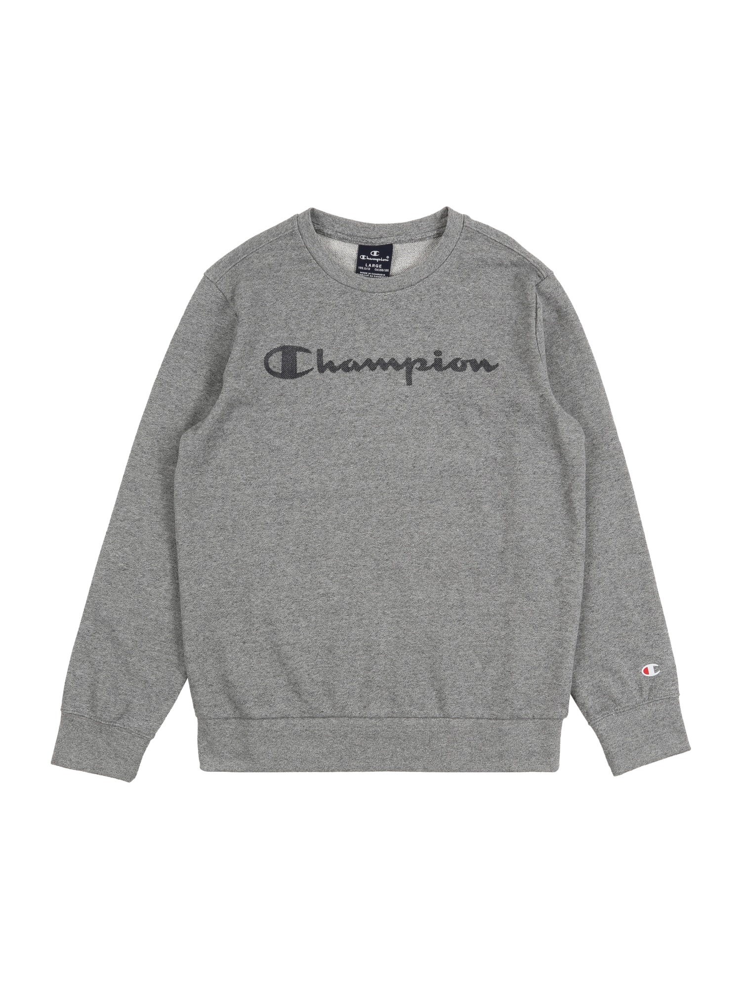 Champion Authentic Athletic Apparel Megztinis be užsegimo margai pilka