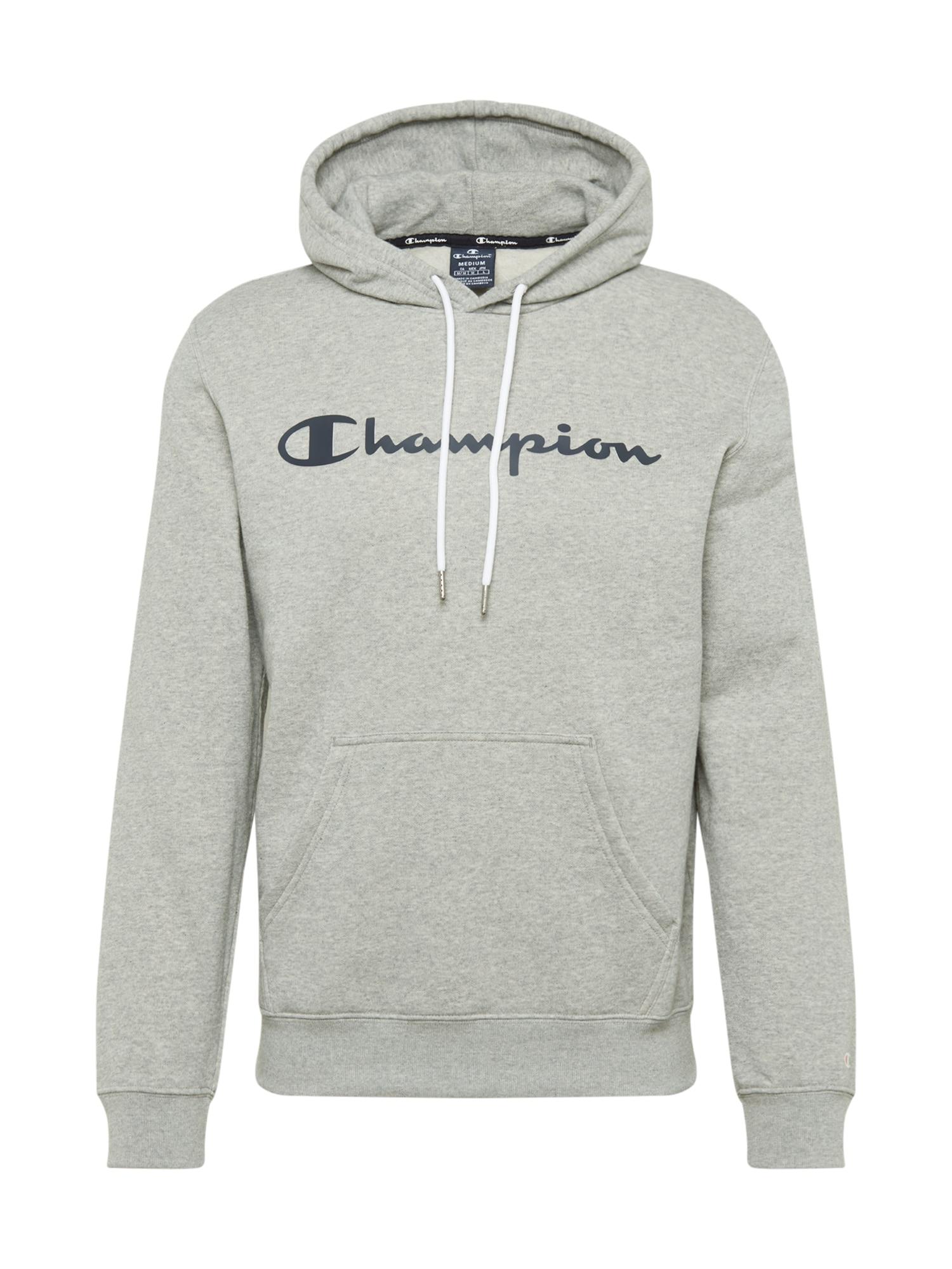 Champion Authentic Athletic Apparel Megztinis be užsegimo mėlyna / pilka