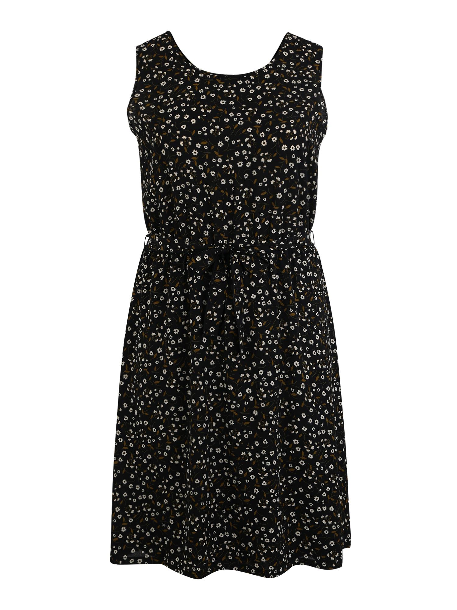 ABOUT YOU Curvy Šaty 'Tamlyn'  zmiešané farby / čierna