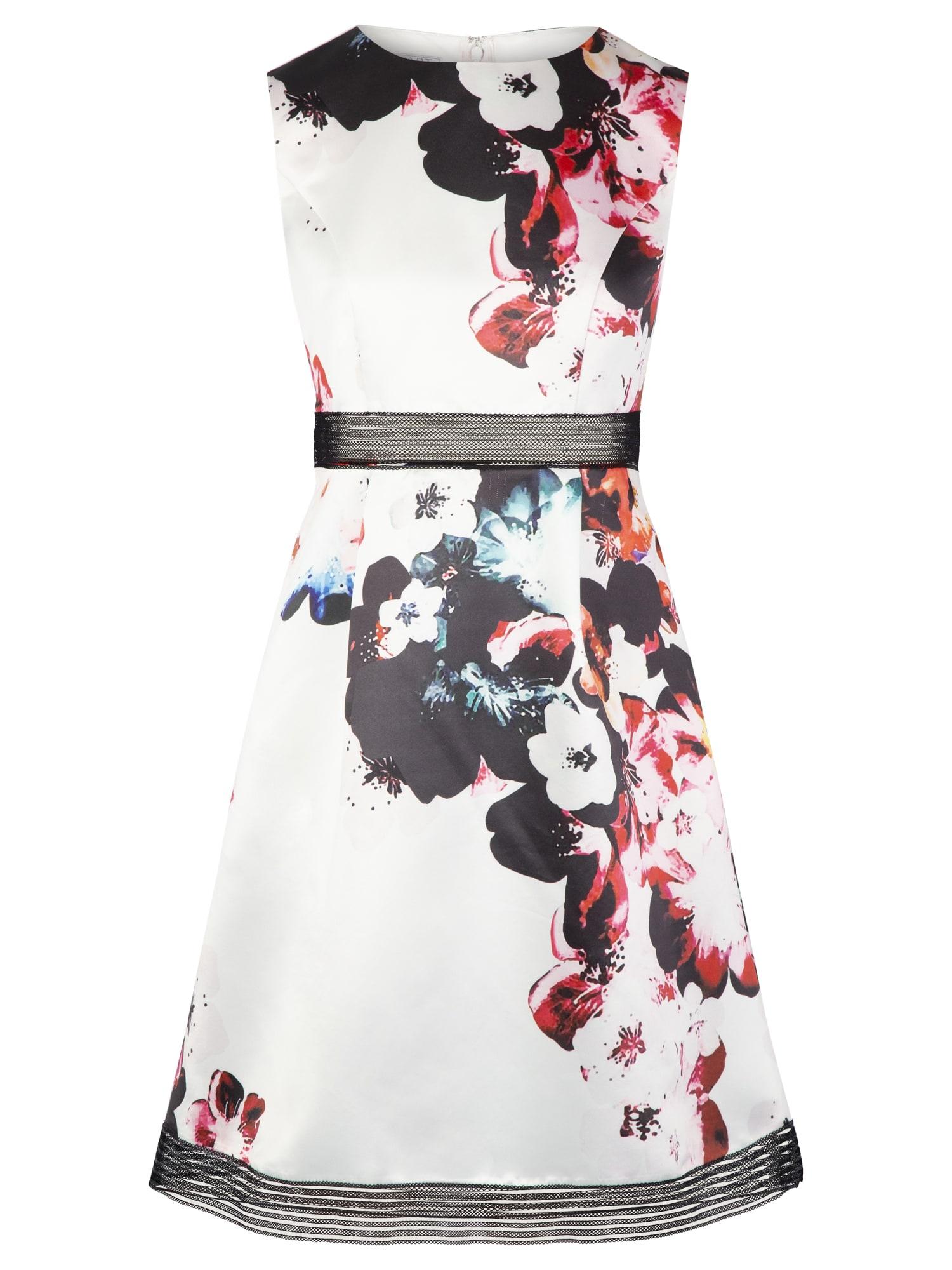 APART Kokteilinė suknelė kremo