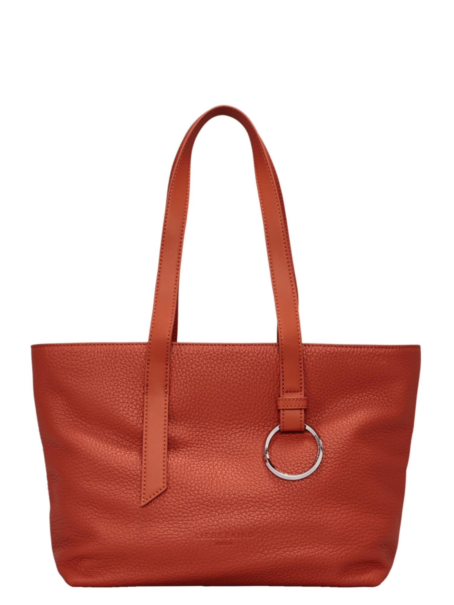 Nákupní taška Millennium oranžově červená Liebeskind Berlin