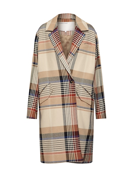 Jacken für Frauen - Designers Remix Mantel 'Penelope Coat' beige navy rot  - Onlineshop ABOUT YOU