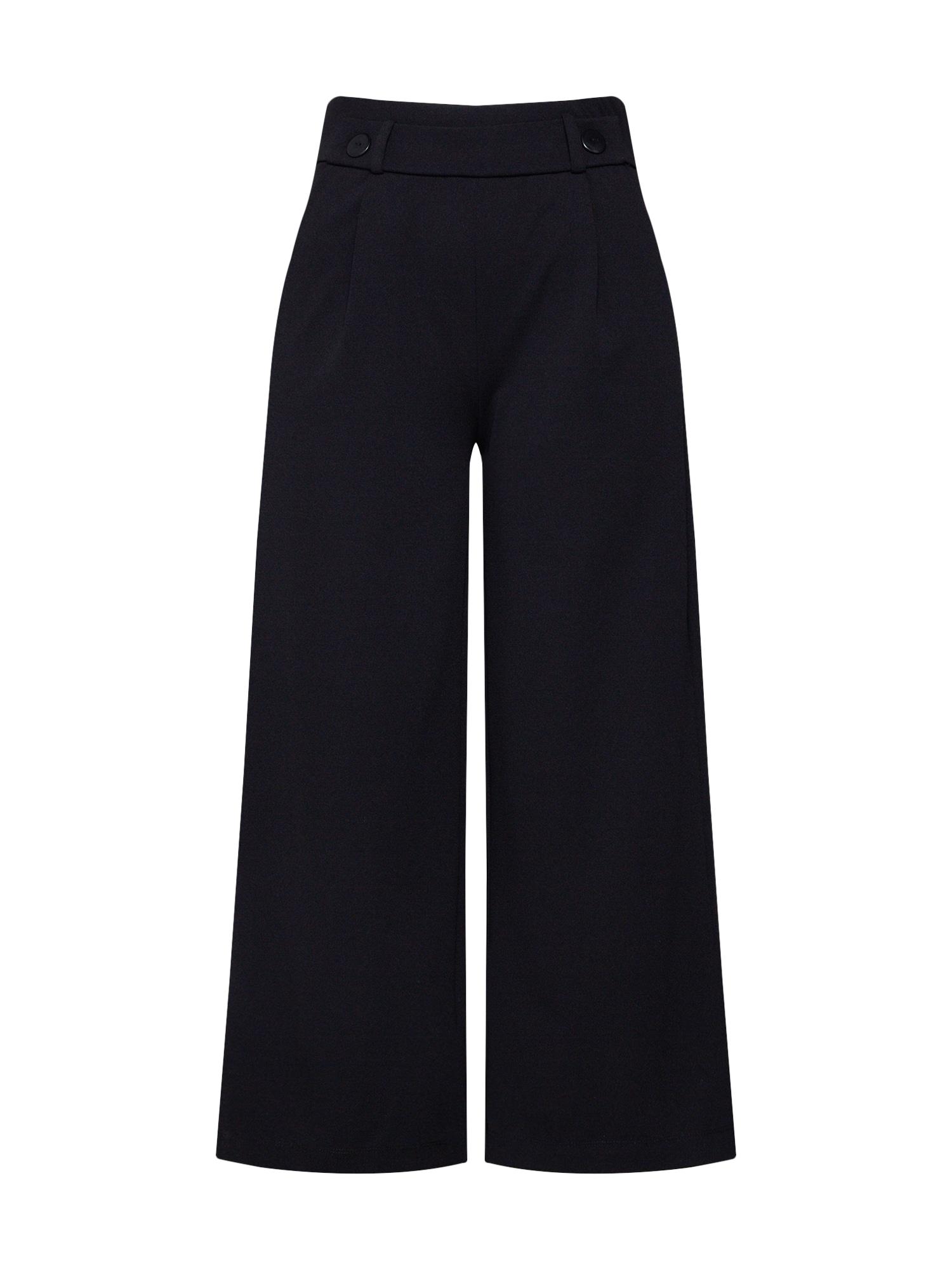 JACQUELINE de YONG Plisované nohavice 'GEGGO'  čierna